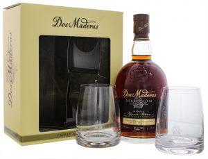 Dos Maderas Seleccion 0,7L + 2 Gläser