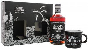Michlers Jamaican Artisanal Dark Rum 0,7L + Tin Cup black