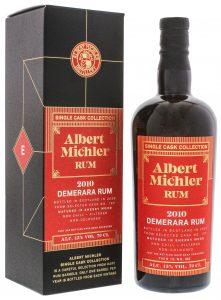 Albert Michler Single Cask Collection Rum Demerara 2010/2020 0,7L