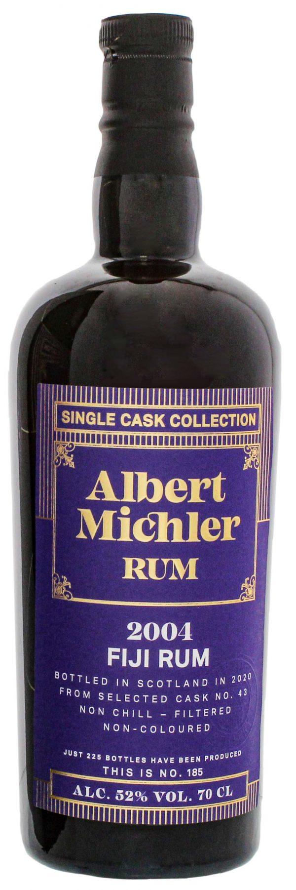 Albert Michler Single Cask Collection Rum Fiji 2004/2020 0,7L