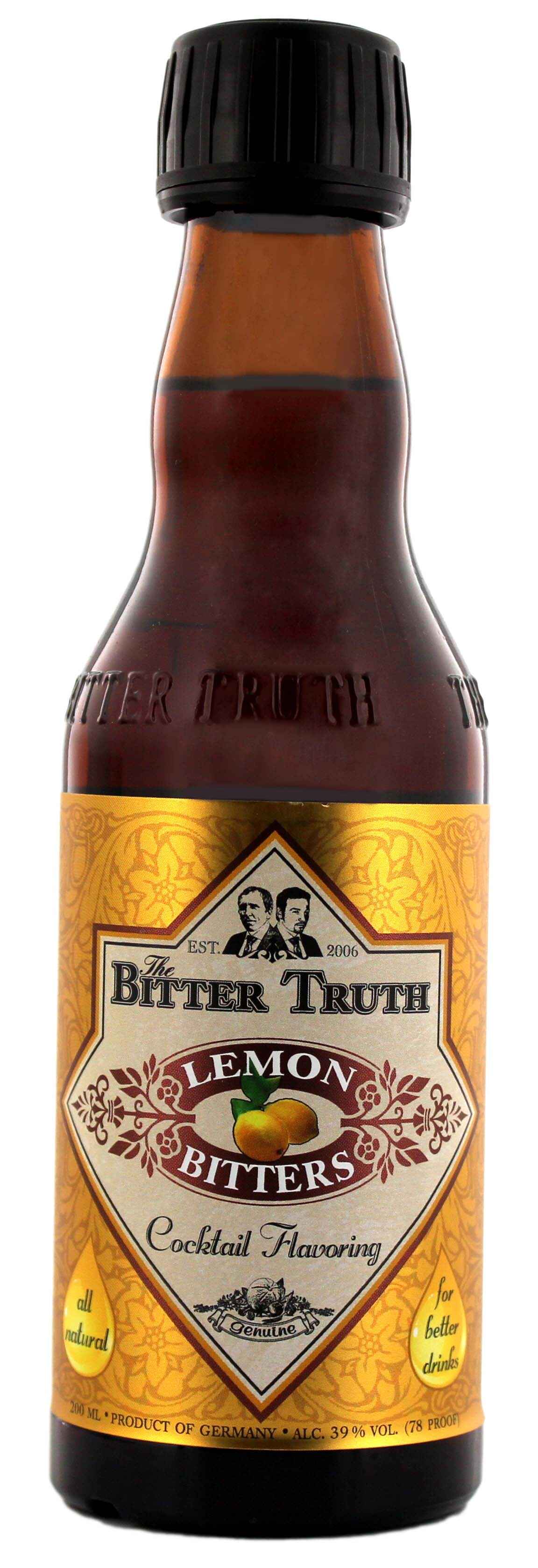 The Bitter Truth Lemon Bitters 0,2L