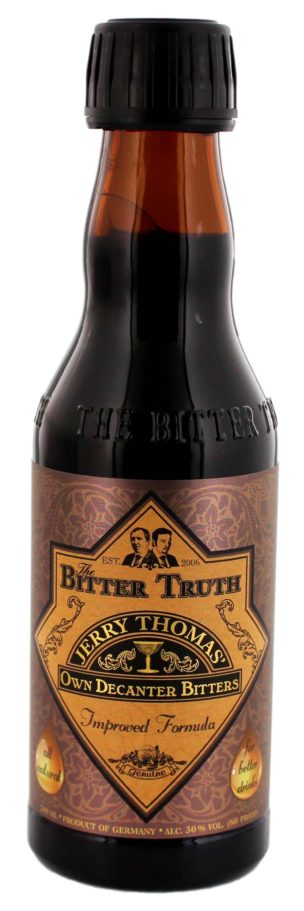 The Bitter Truth Jerry Thomas Own Decanter Bitters 0,2L