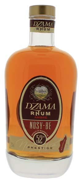Dzama Nosy Be Ambre Prestige 0,7L
