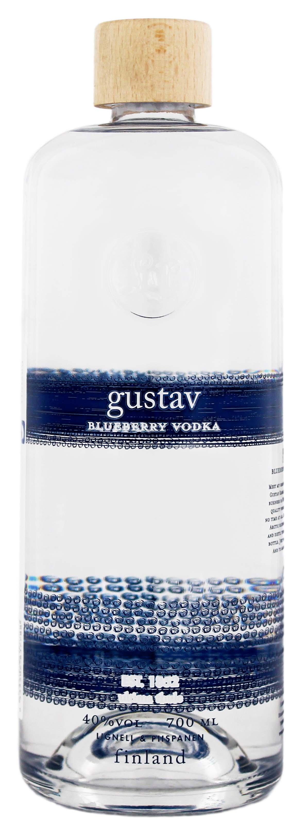 Gustav Blueberry Vodka 0,7L