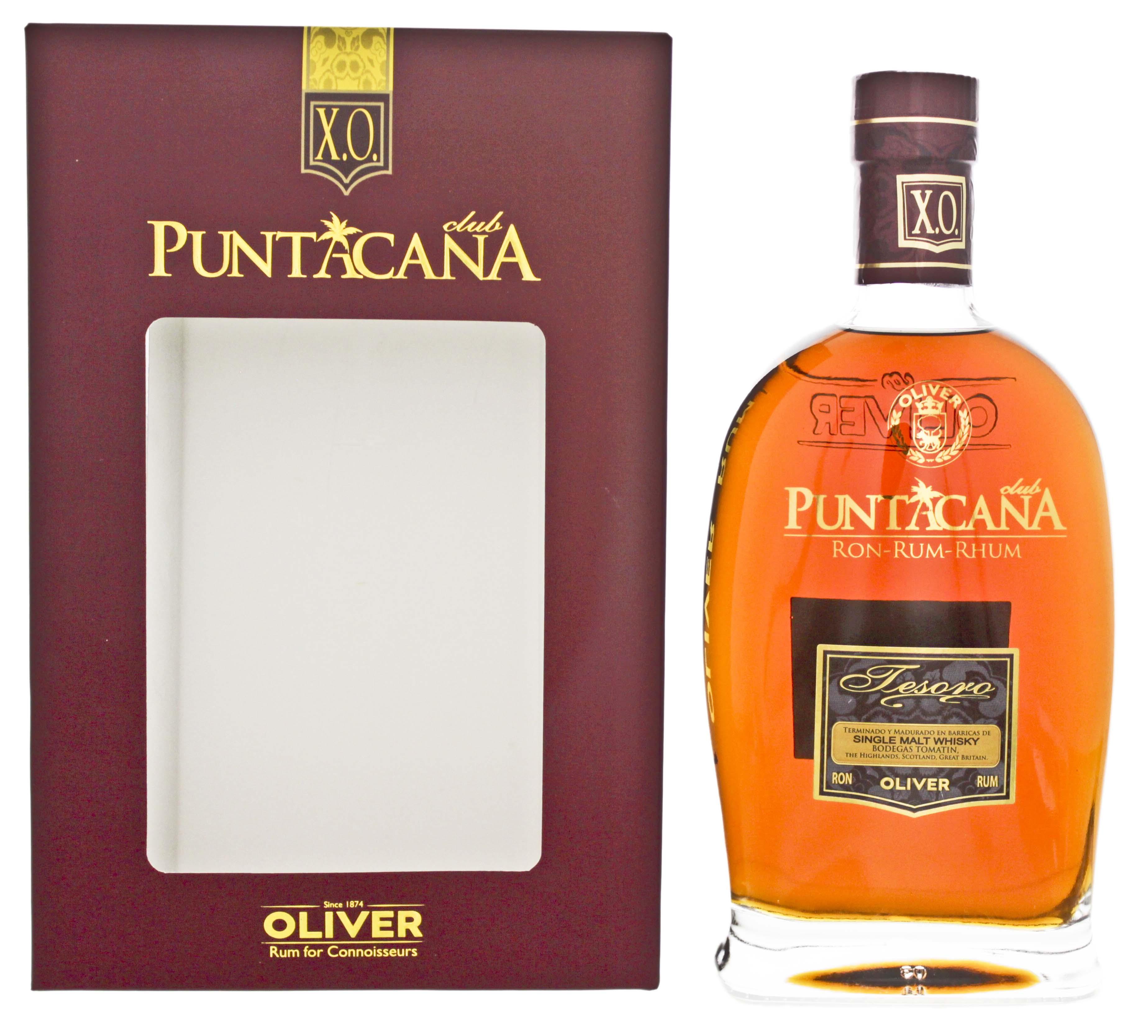 Puntacana Club Tesoro XO Malt Whisky Finish 0,7L