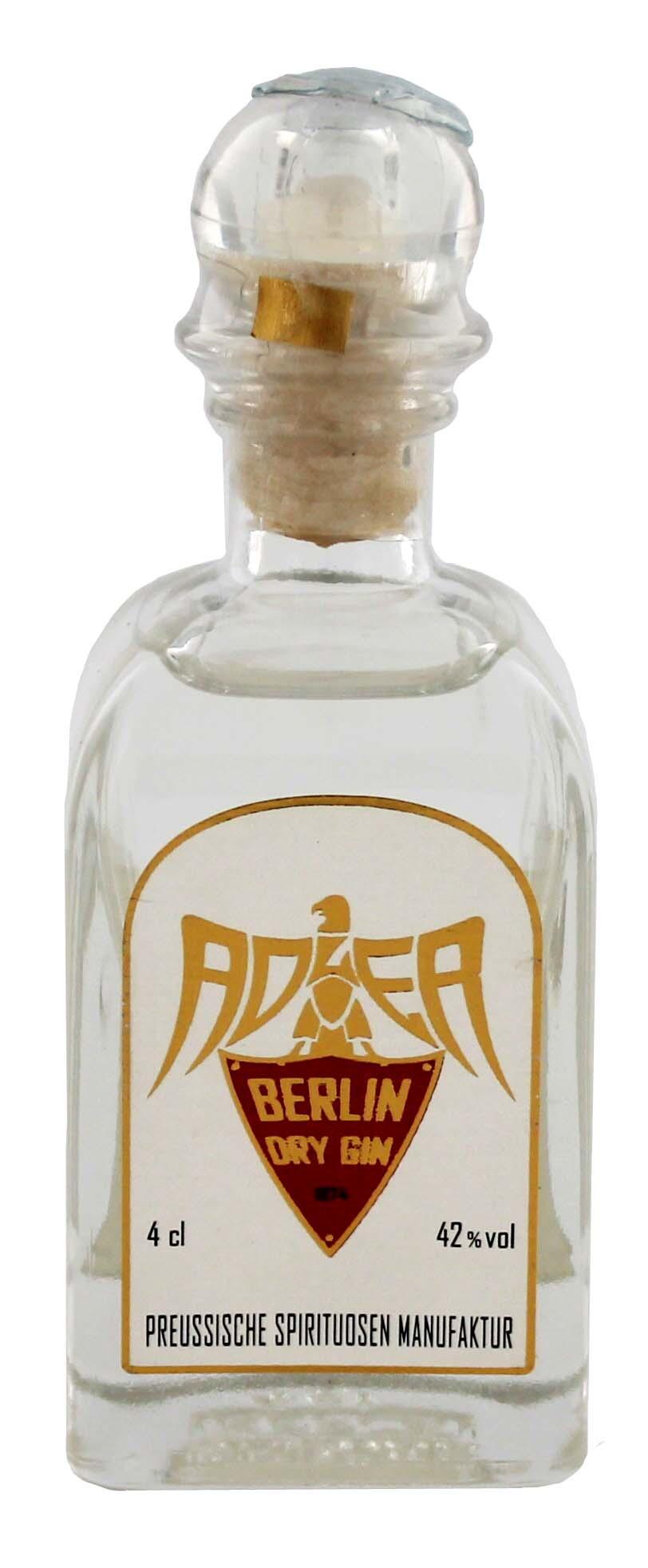 Adler Berlin Dry Gin Miniatures 0,04L