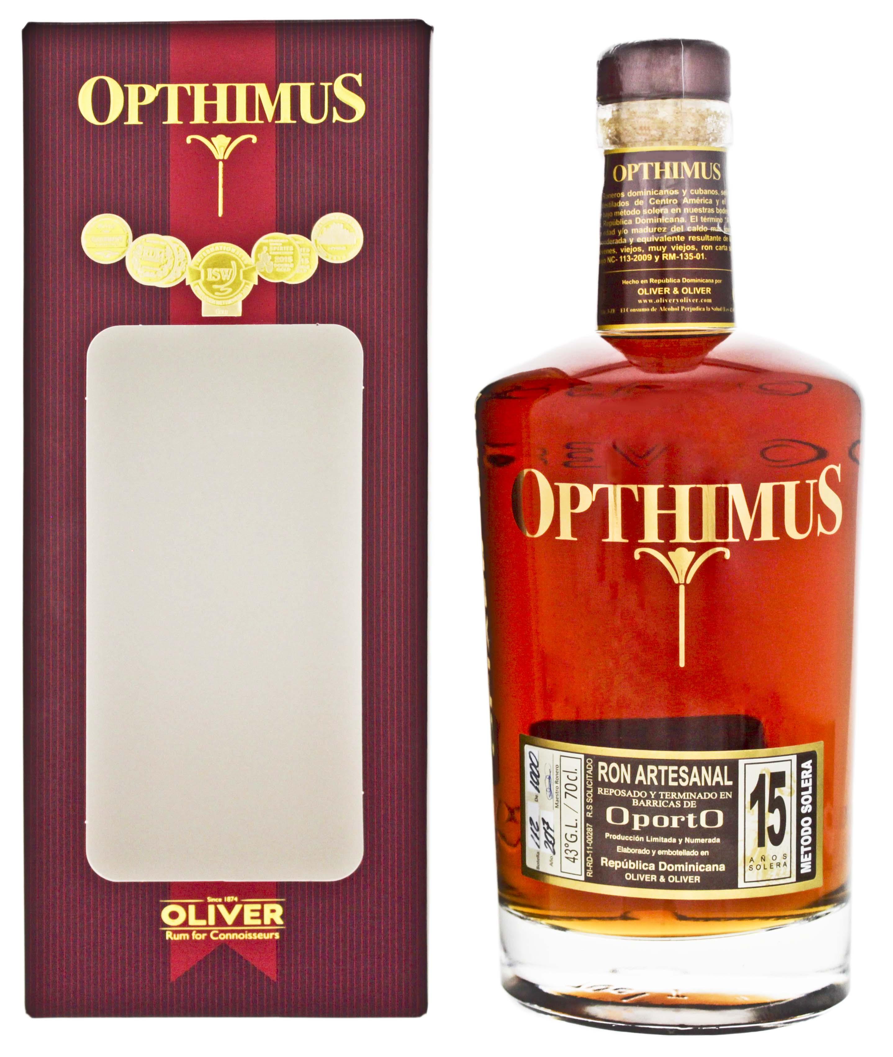 Opthimus 15YO Oporto 0,7L
