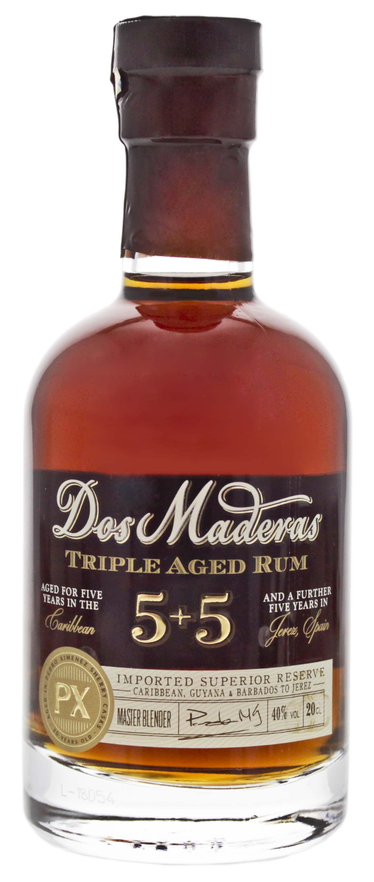 Dos Maderas PX Triple Aged 5+5 0,2L