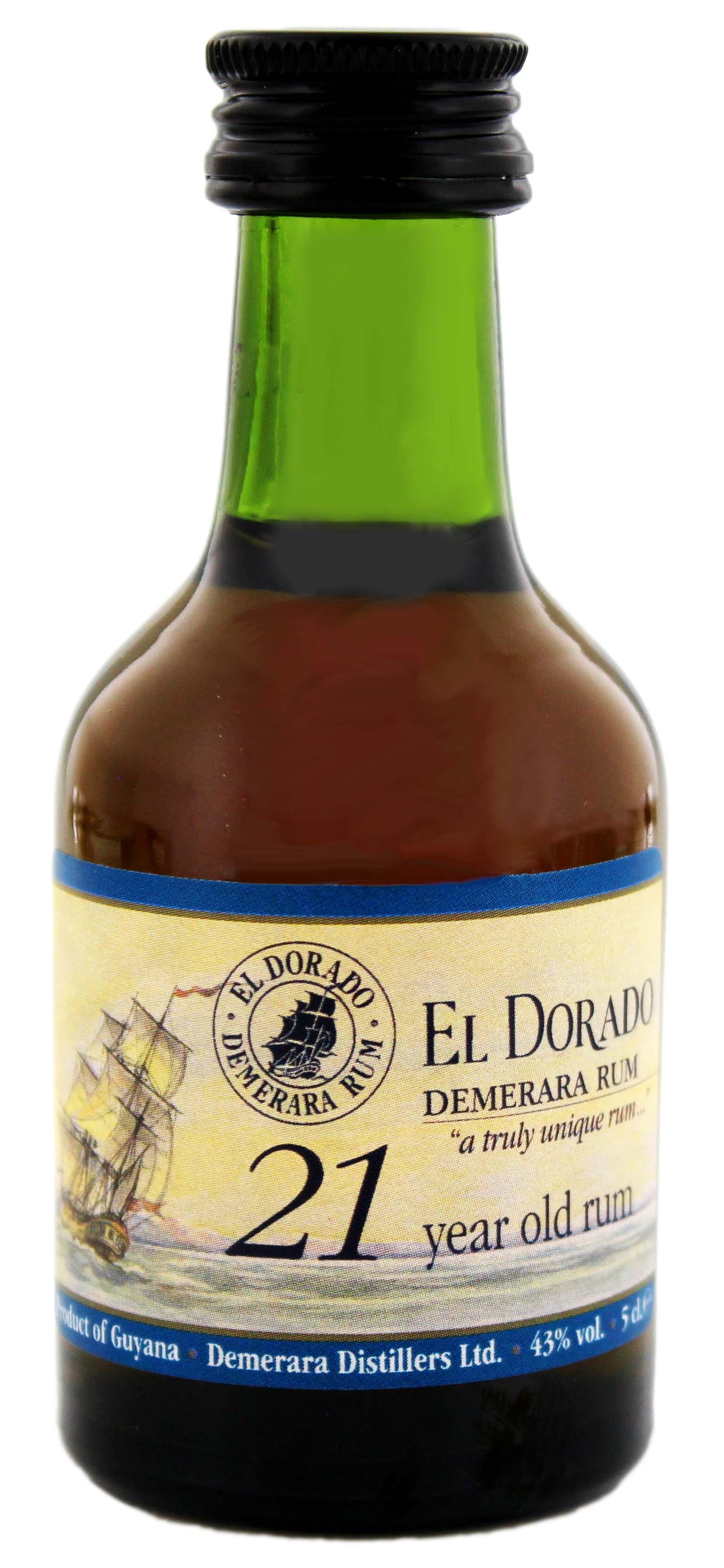 El Dorado Rum 21YO Miniatures 0,05L