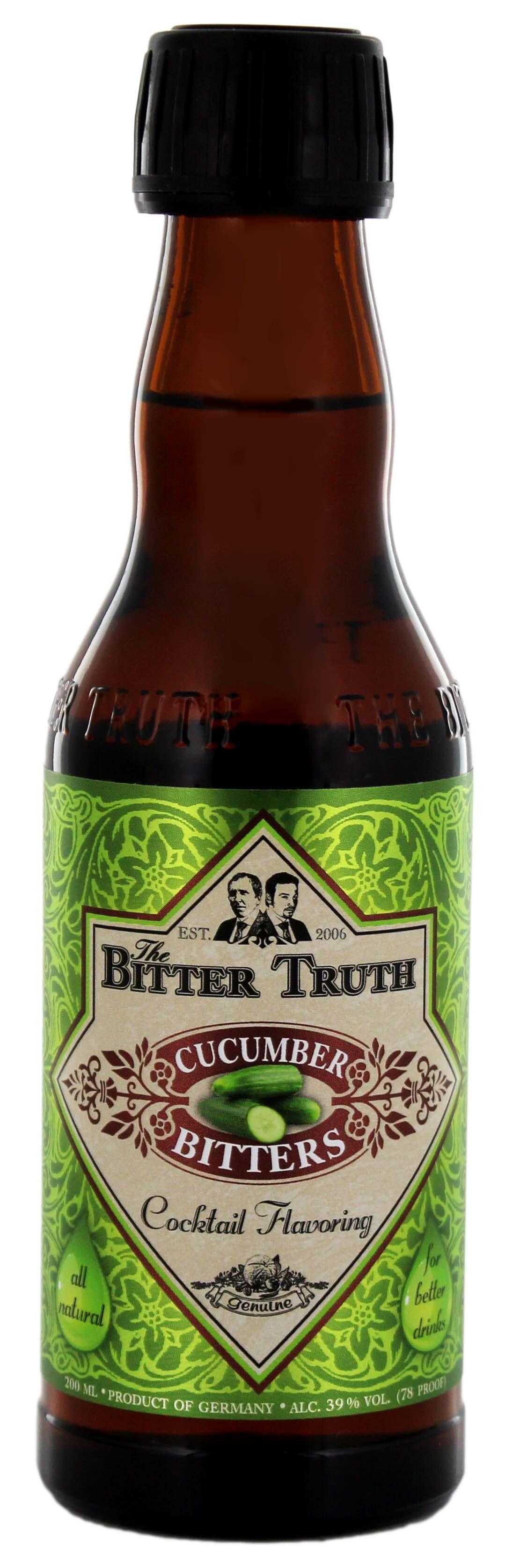 The Bitter Truth Cucumber Bitters 0,2L
