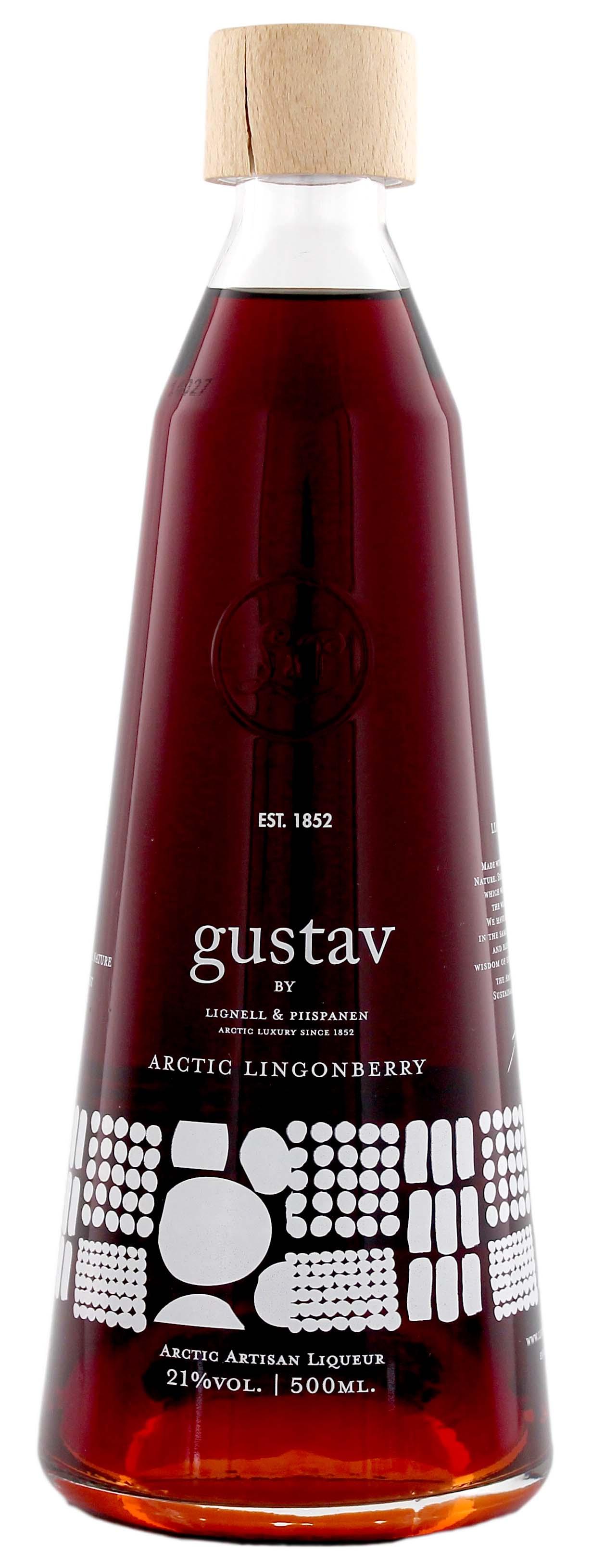 Gustav Arctic Lingonberry Liqueur 0,5L