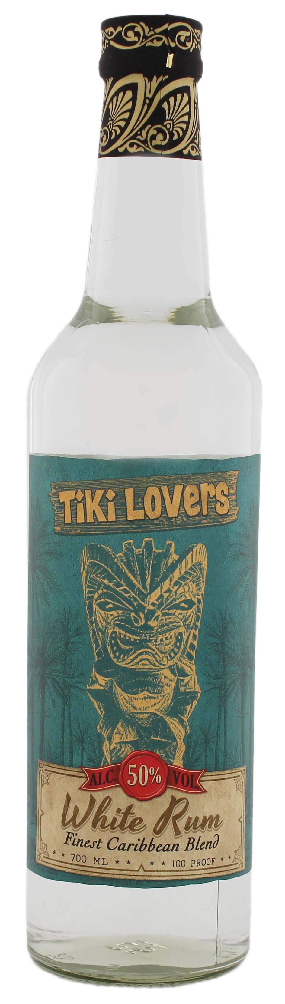Tiki Lovers White Rum 0,7L