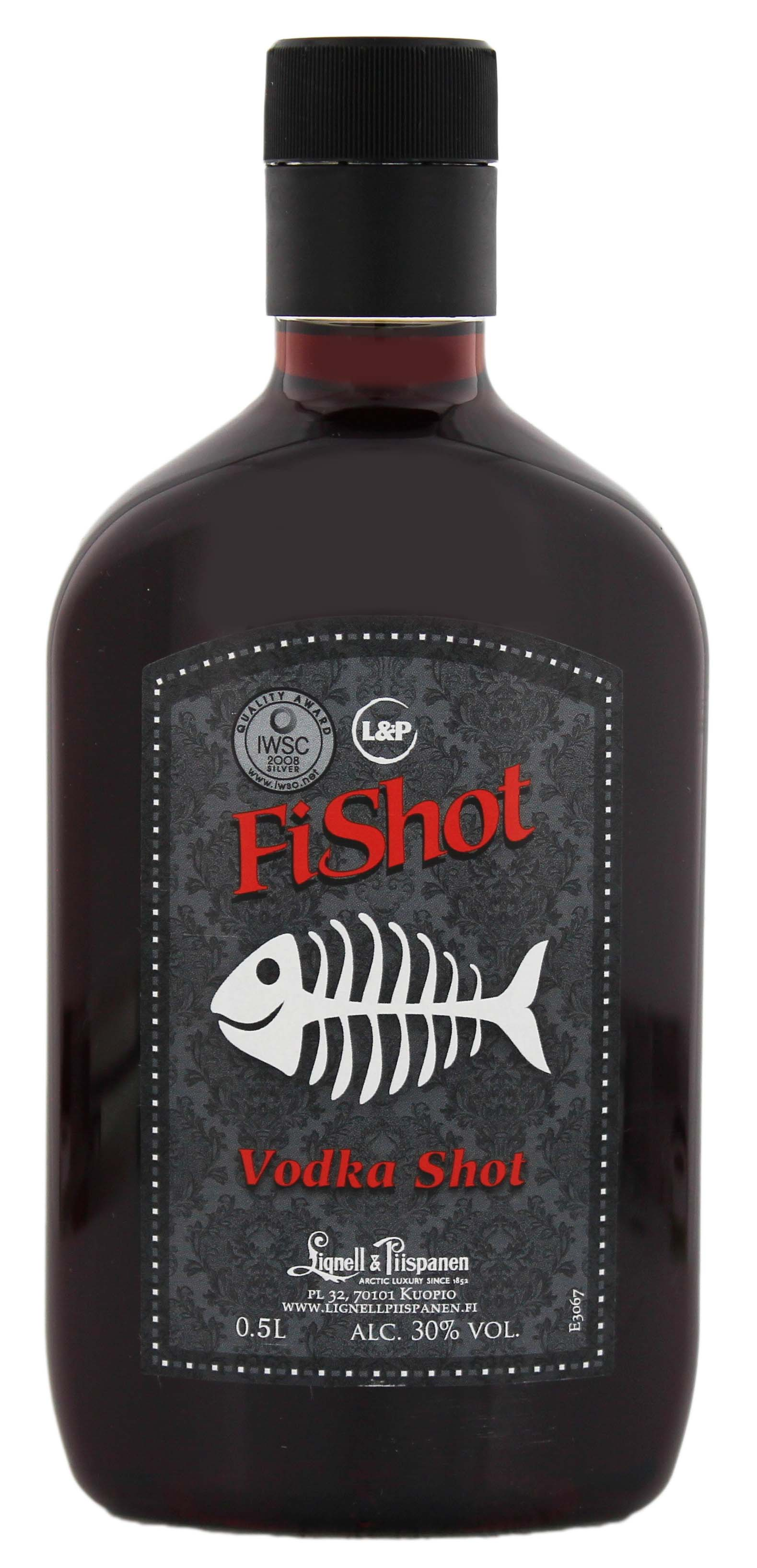 FiShot Vodka Shot 0,5L PET