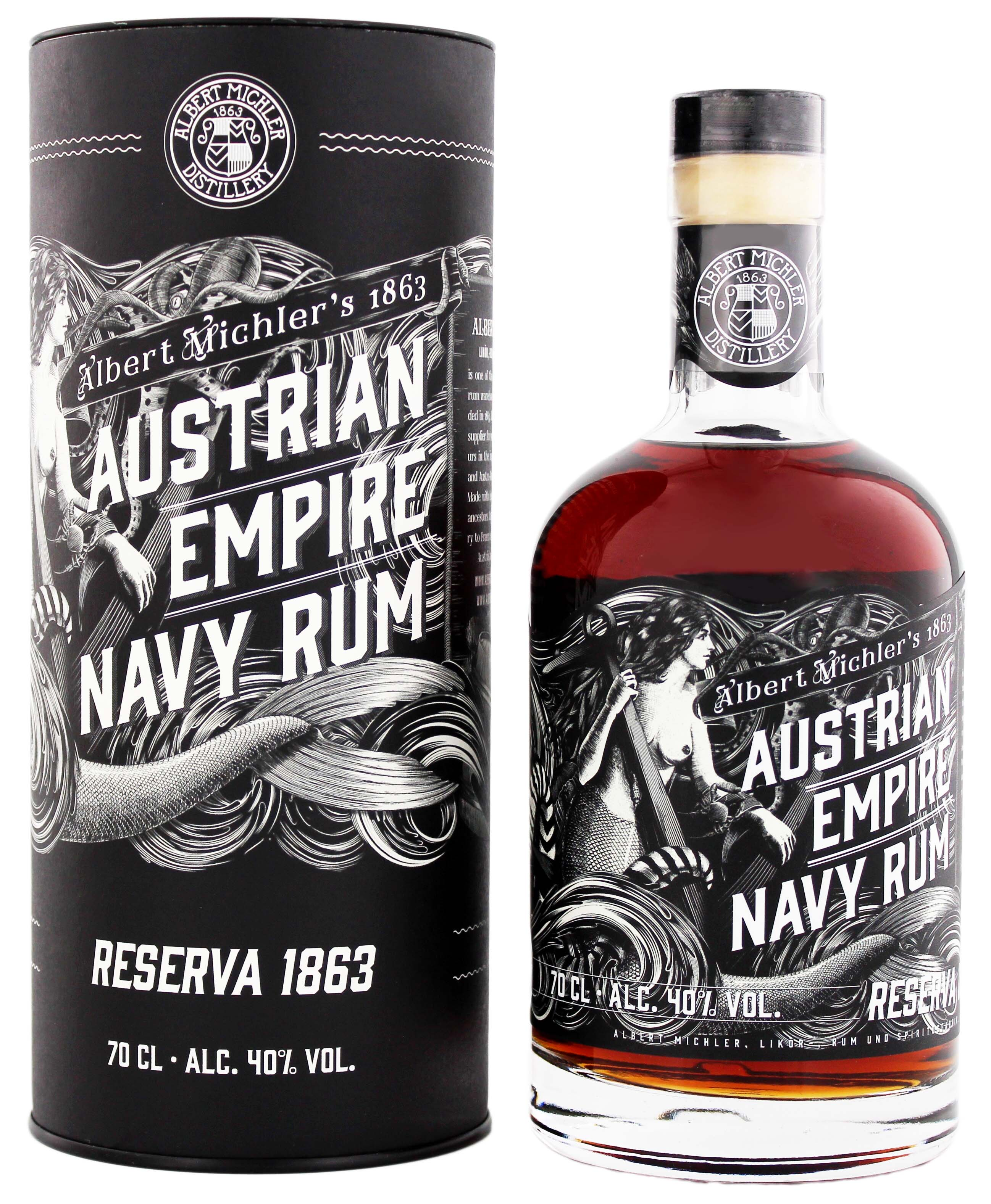 Austrian Empire Navy Reserva 1863 0,7L