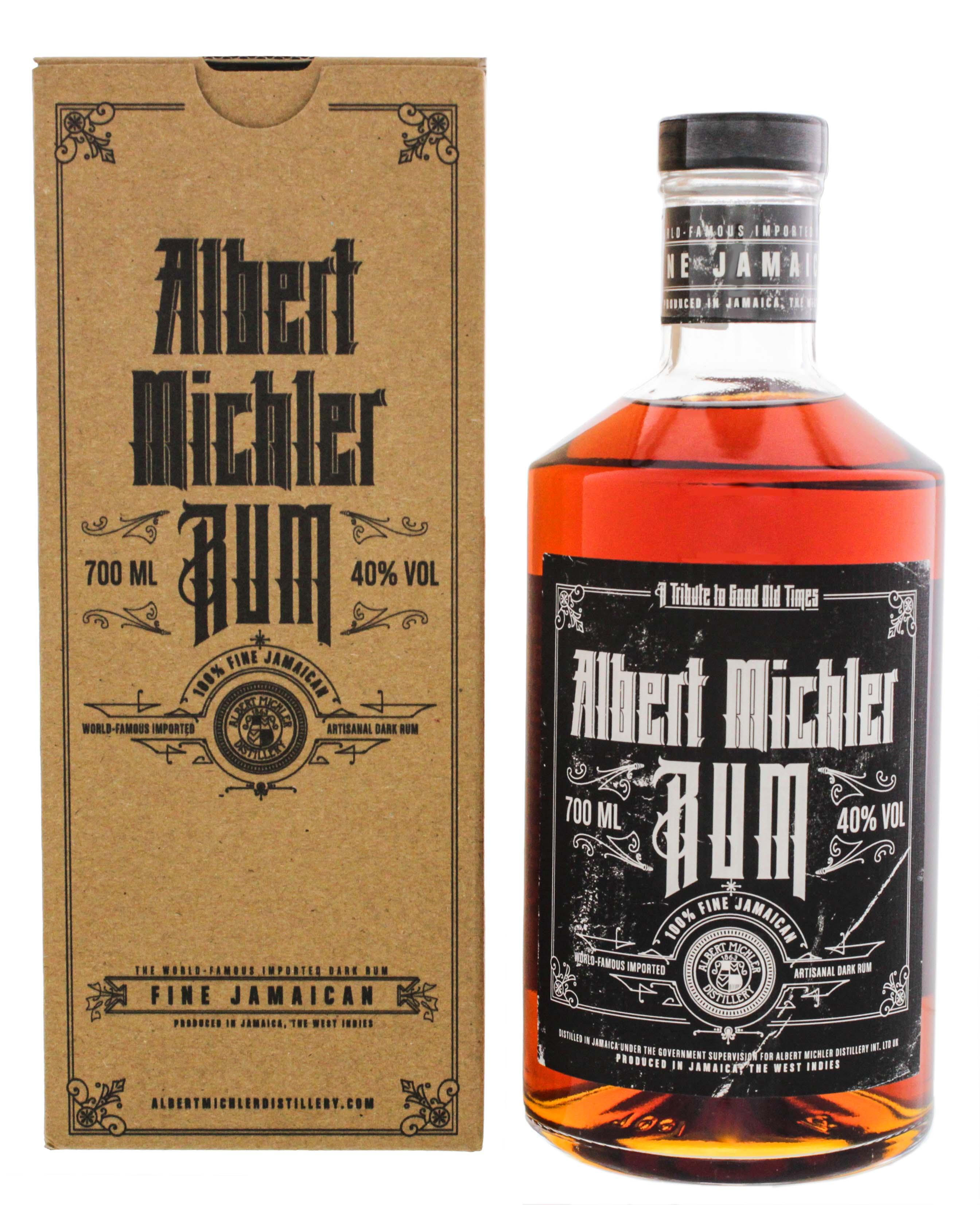 Michlers Jamaican Artisanal Dark Rum 0,7L