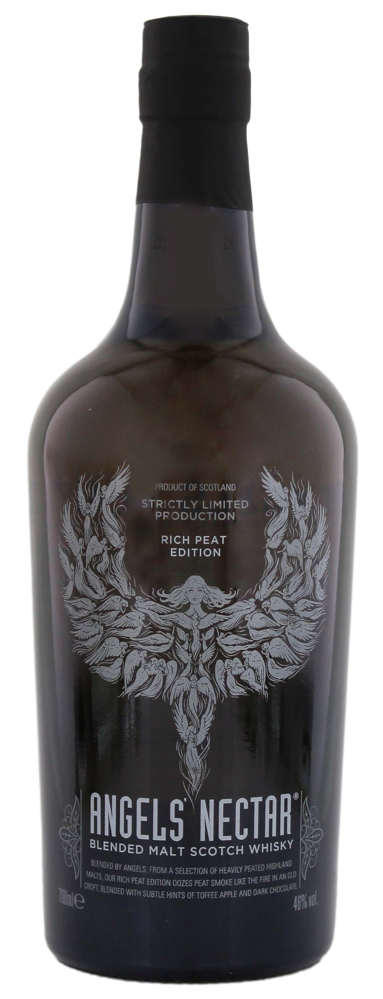 Angels Nectar Blended Malt Whisky Rich Peat Edition 0,7L