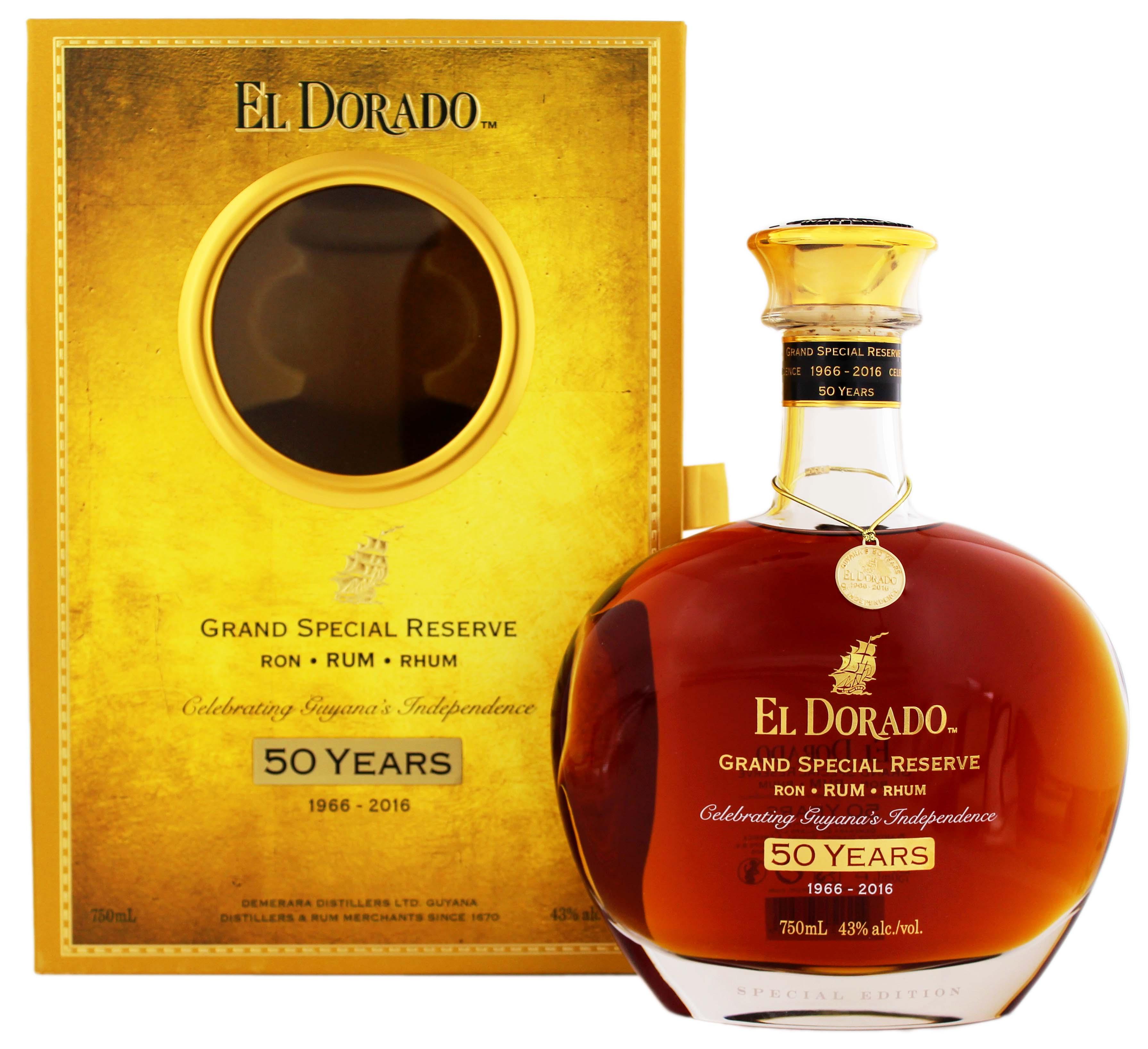 El Dorado 50th Anniversary Grand Special Reserve Rum 0,75L