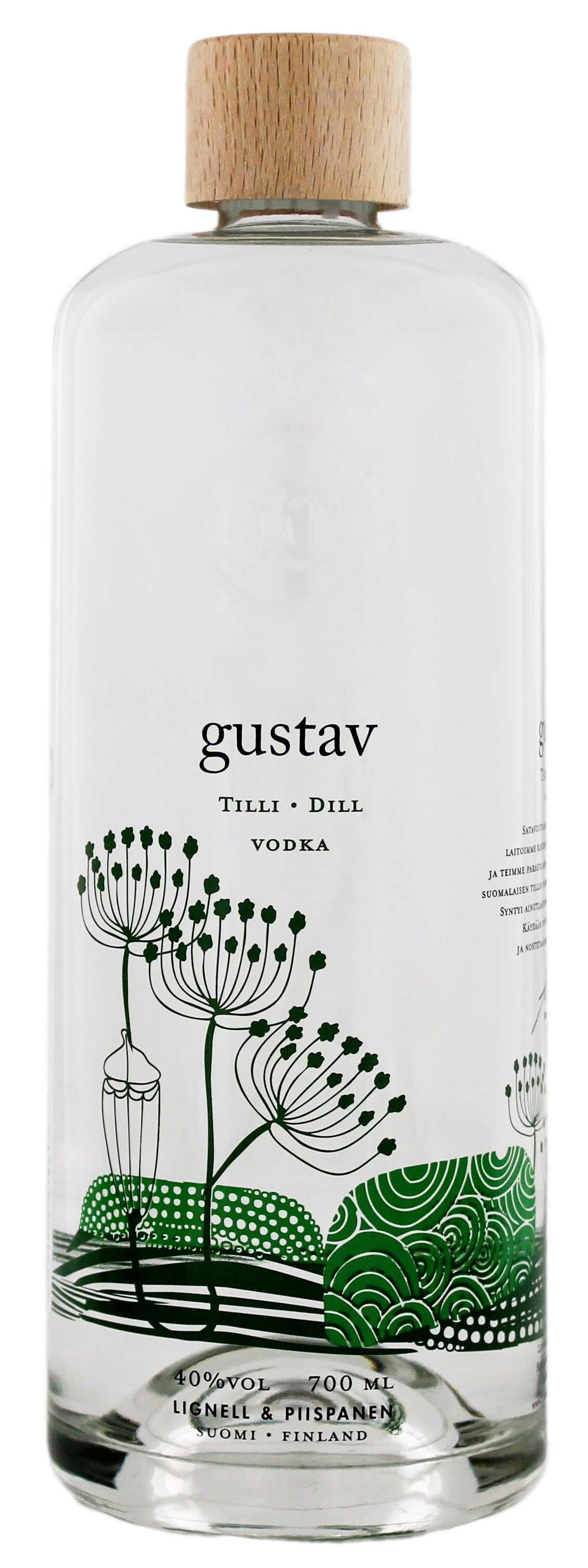 Gustav Tilli/Dill Vodka 0,7L