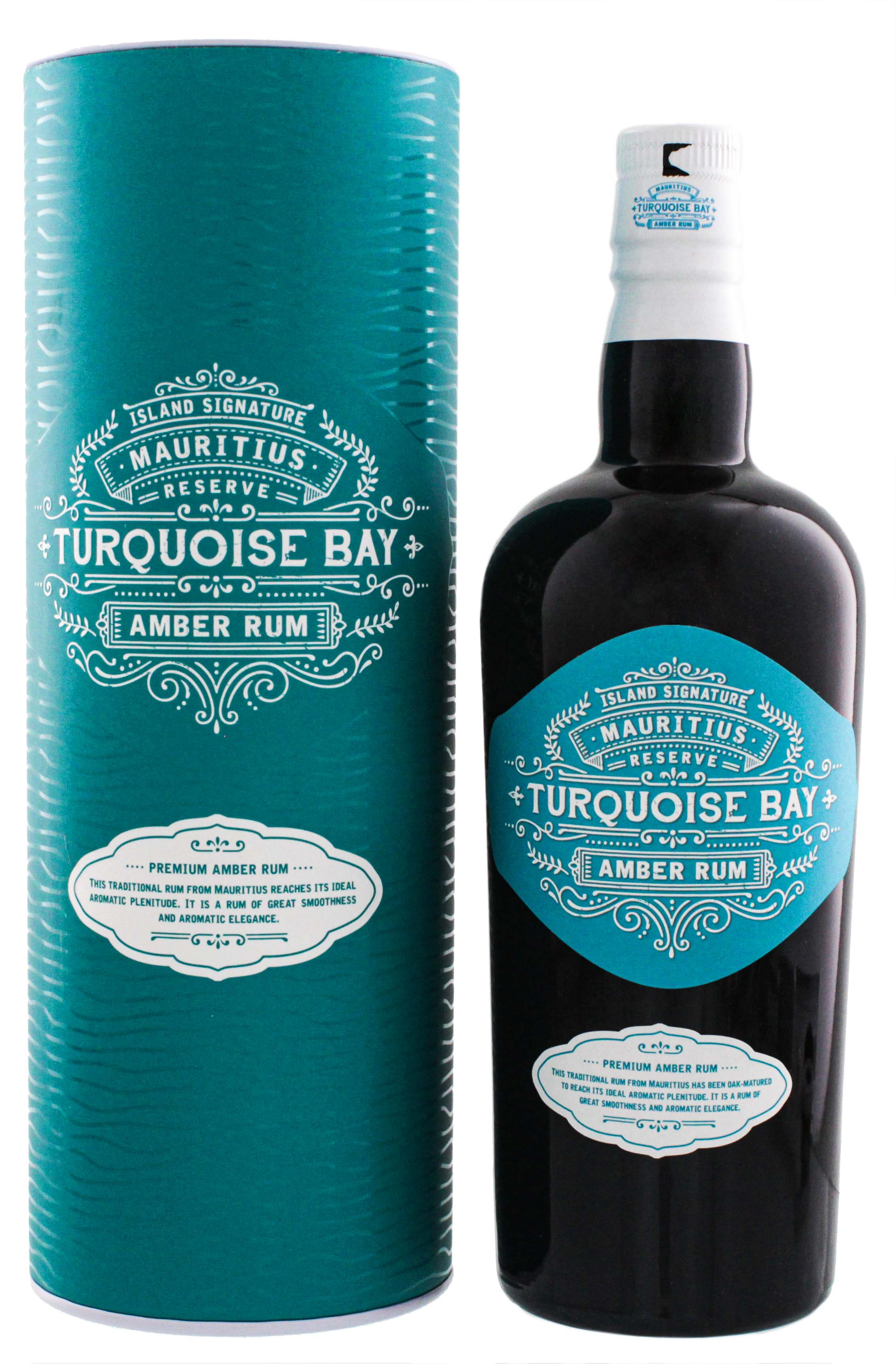 Island Signature Collection Turquoise Bay Amber Rum 0,7L