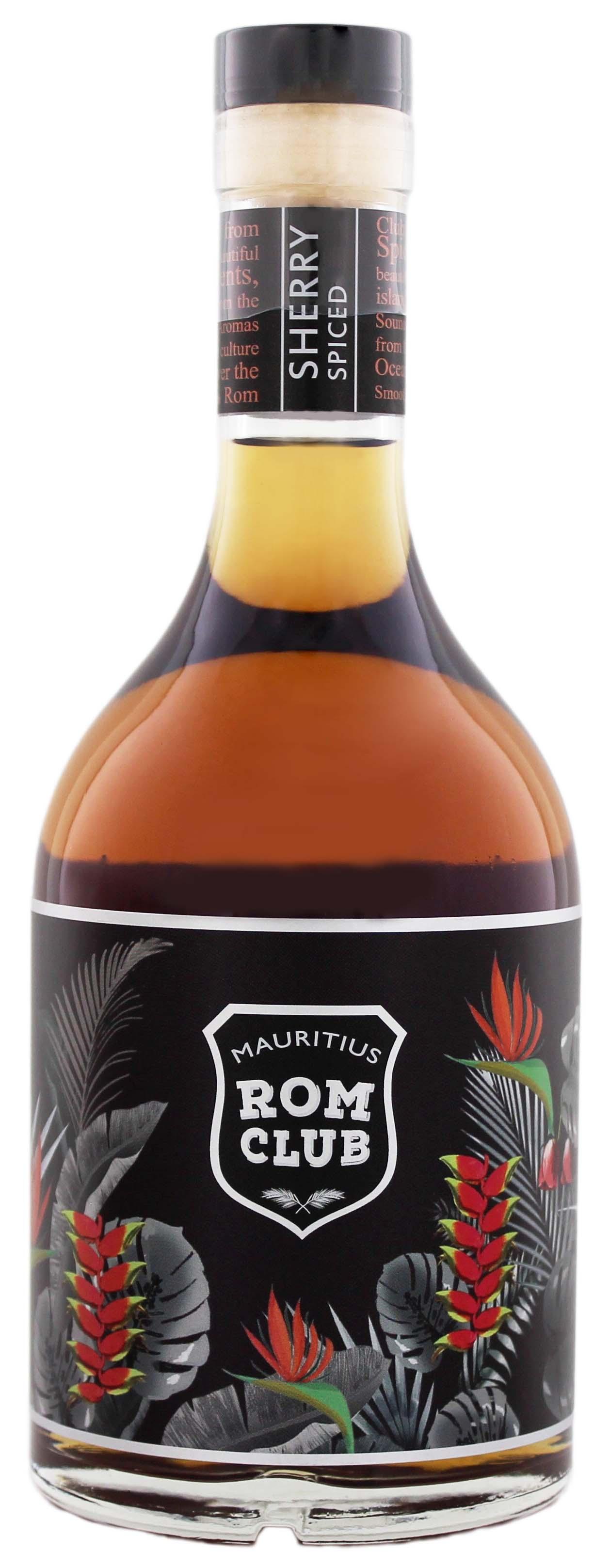 Mauritius Rom Club Sherry Spiced 0,7L