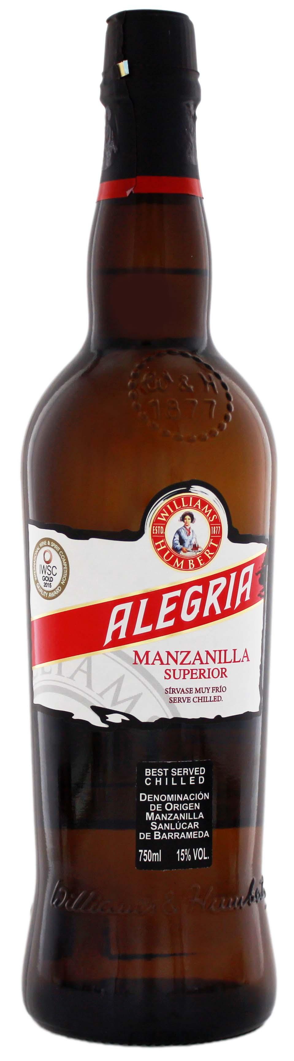 Williams & Humbert Alegria Manzanilla 0,75L