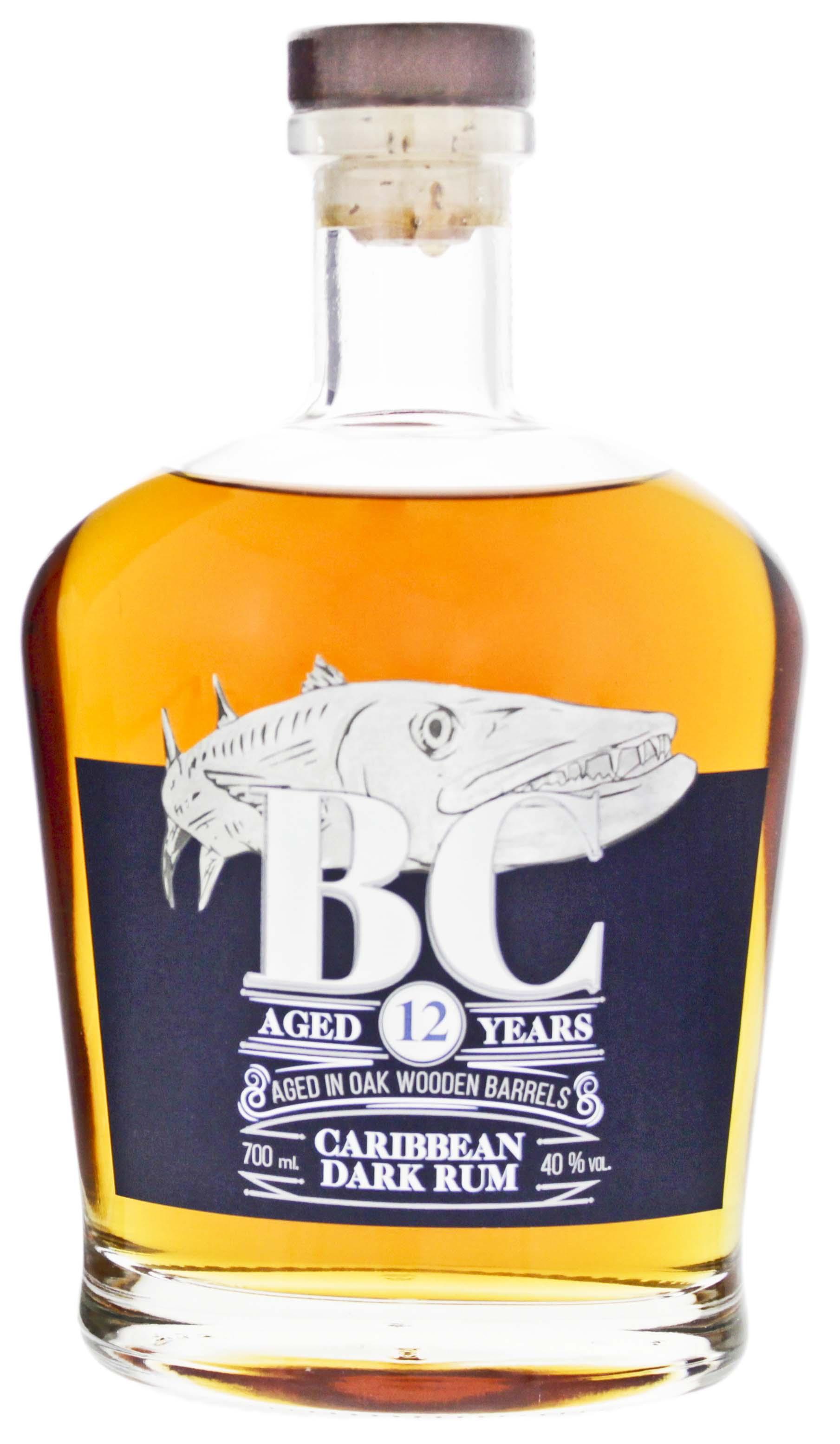 BC Reserve Collection Caribbean Dark Rum 12YO 0,7L