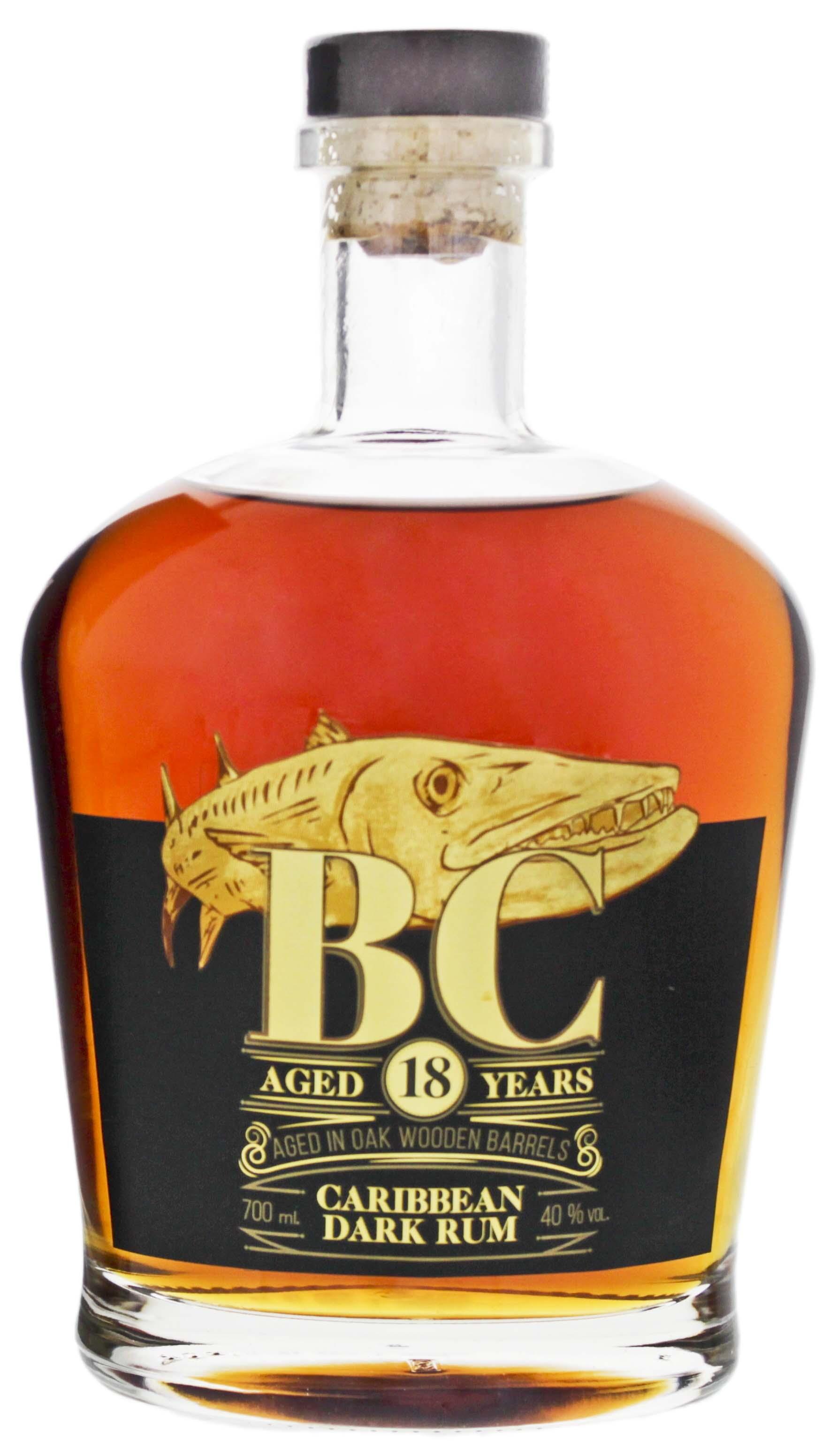 BC Reserve Collection Caribbean Dark Rum 18YO 0,7L