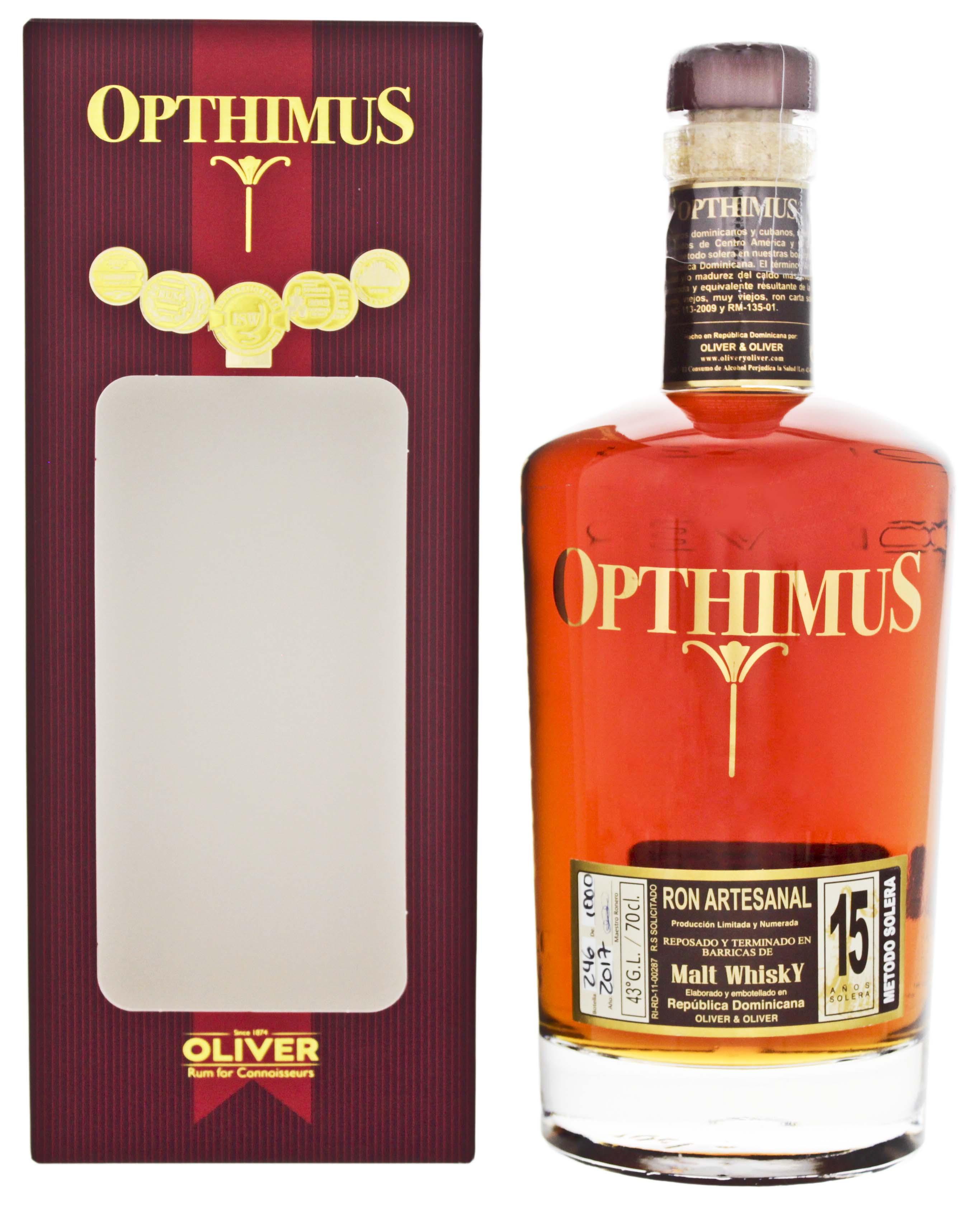 Opthimus 15YO Malt Whisky Finish 0,7L