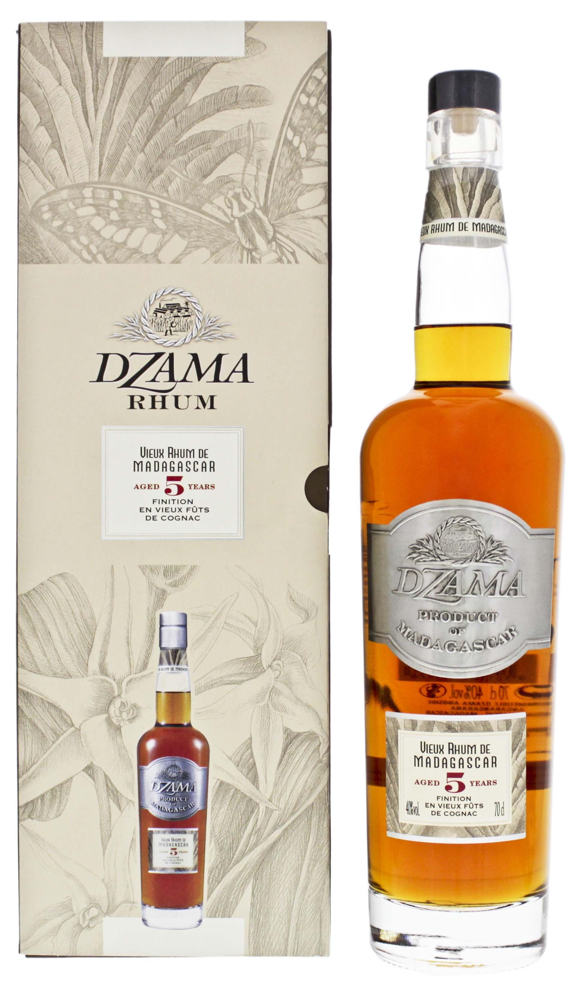 Dzama Vieux 5YO Cognac Finish 0,7L