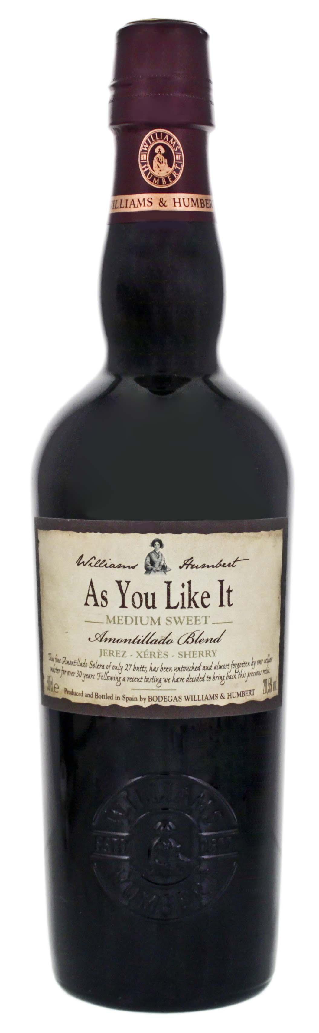 Williams & Humbert As You Like It Medium Sweet Sherry 0,5L