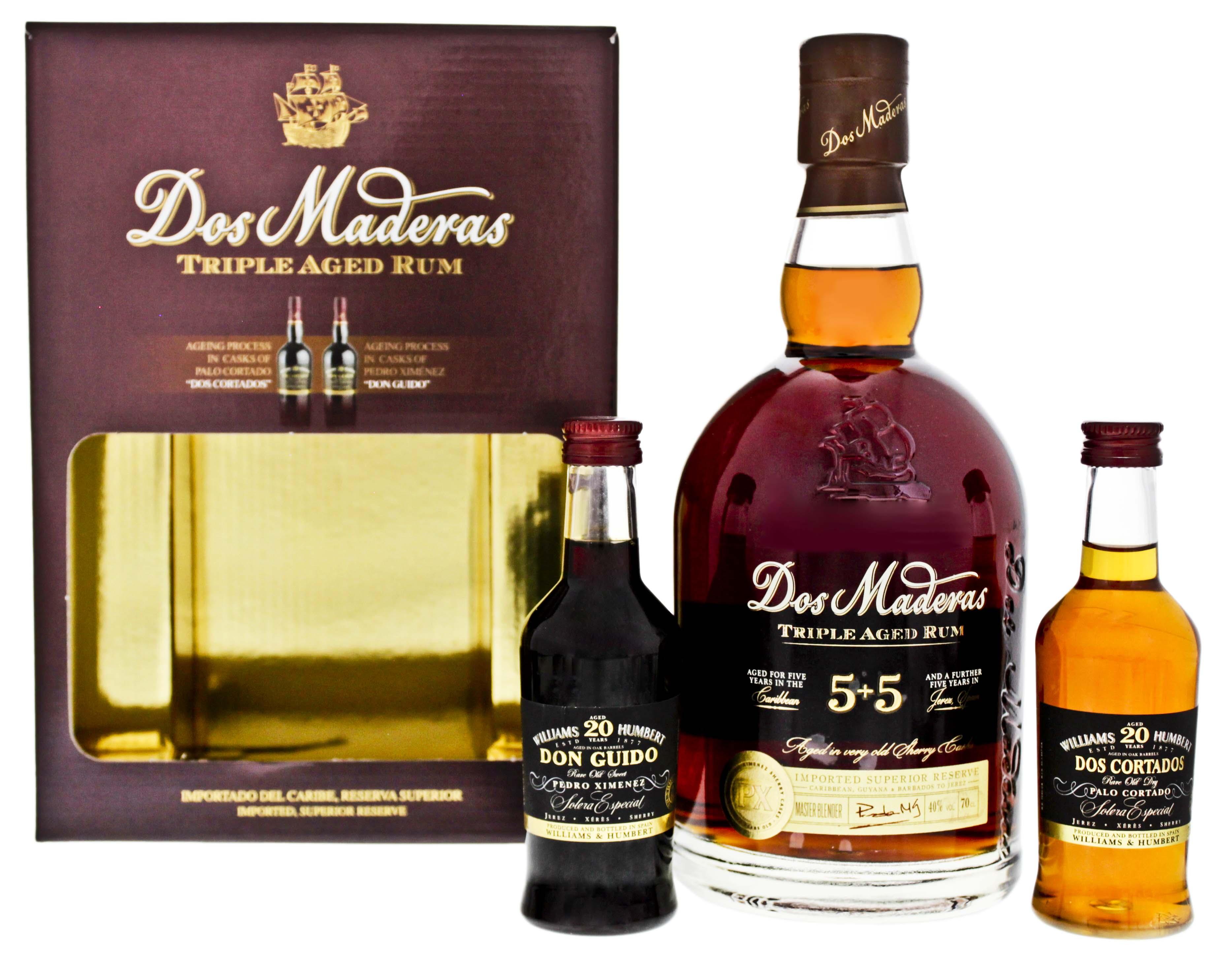 Dos Maderas PX Triple Aged 5+5 0,7L + Sherry (0,7L + 2 x 0,1L)