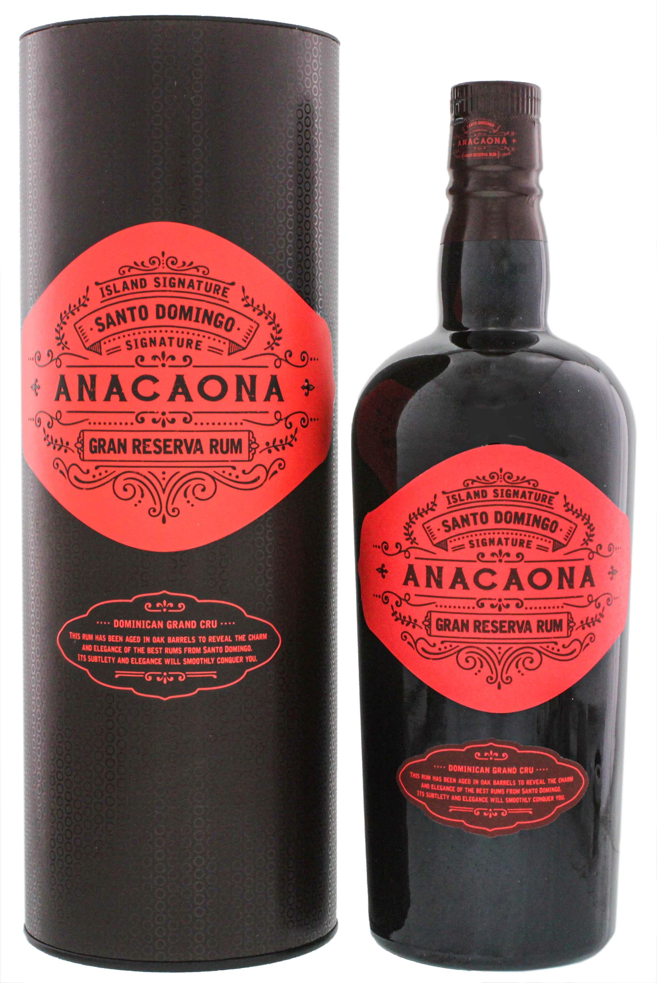 Island Signature Collection Anacaona Santo Domingo Gran Reserva Rum 0,7L
