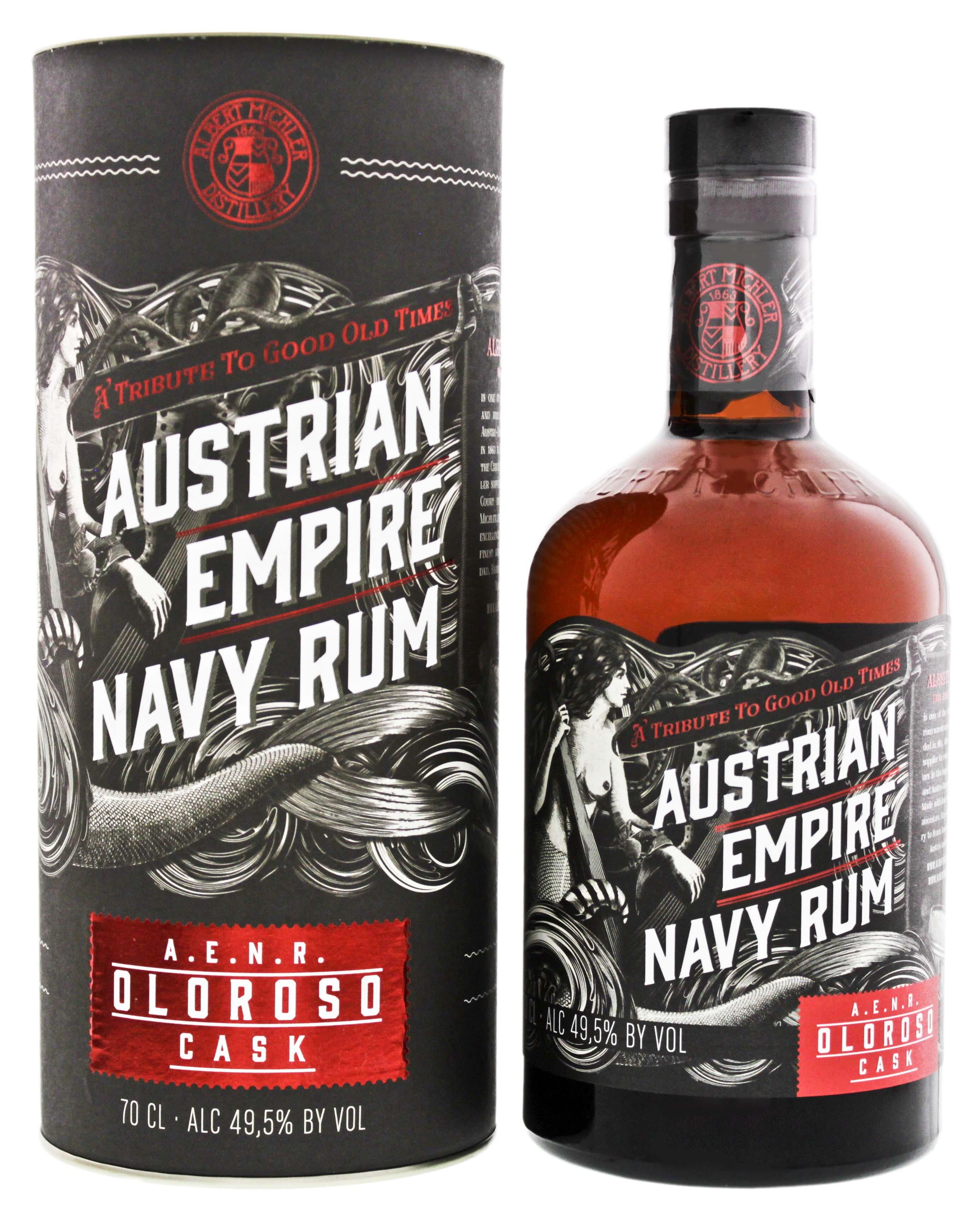 Austrian Empire Navy Rum Reserve Double Cask Oloroso 0,7L