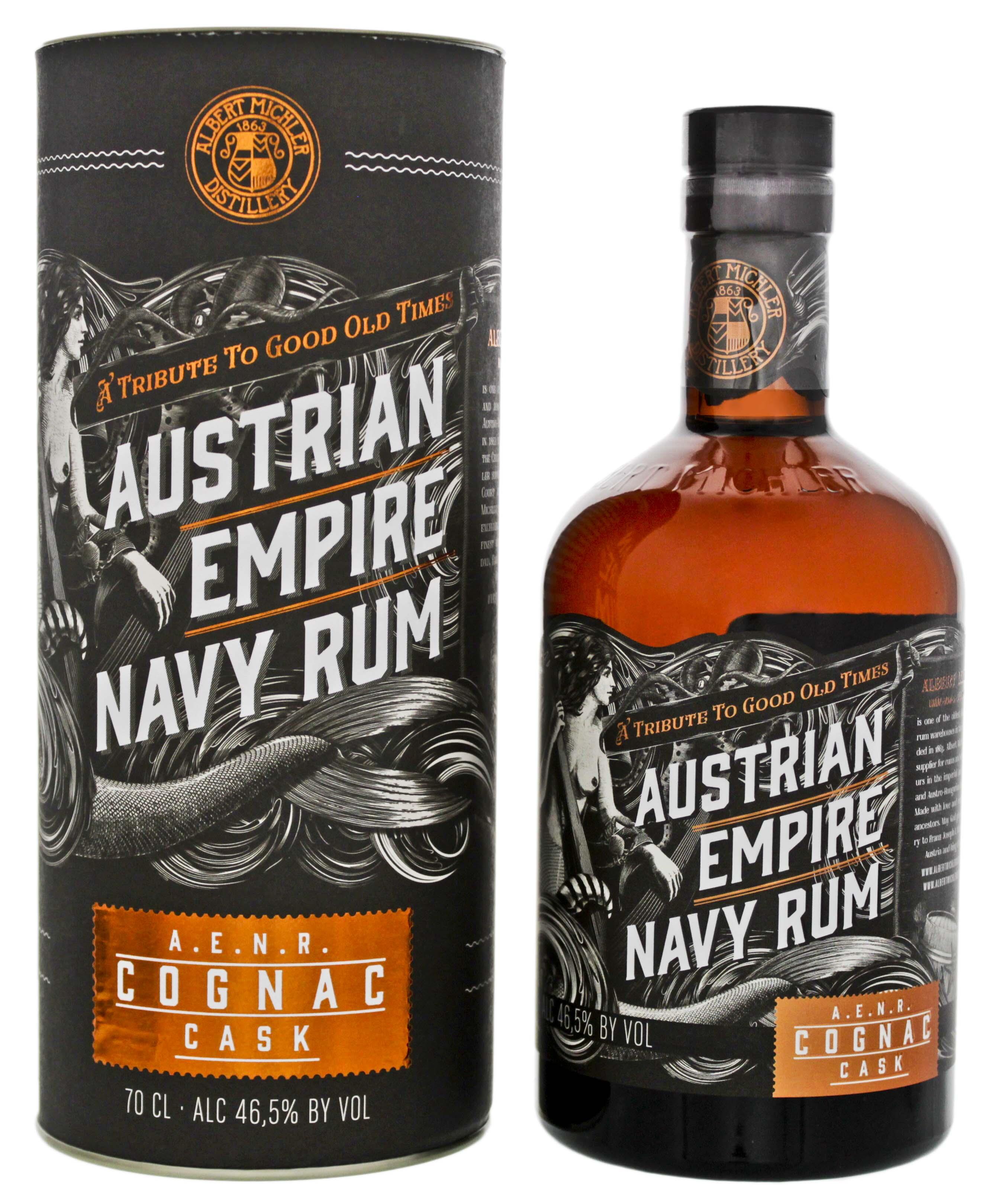 Austrian Empire Navy Rum Reserve Double Cask Cognac 0,7L