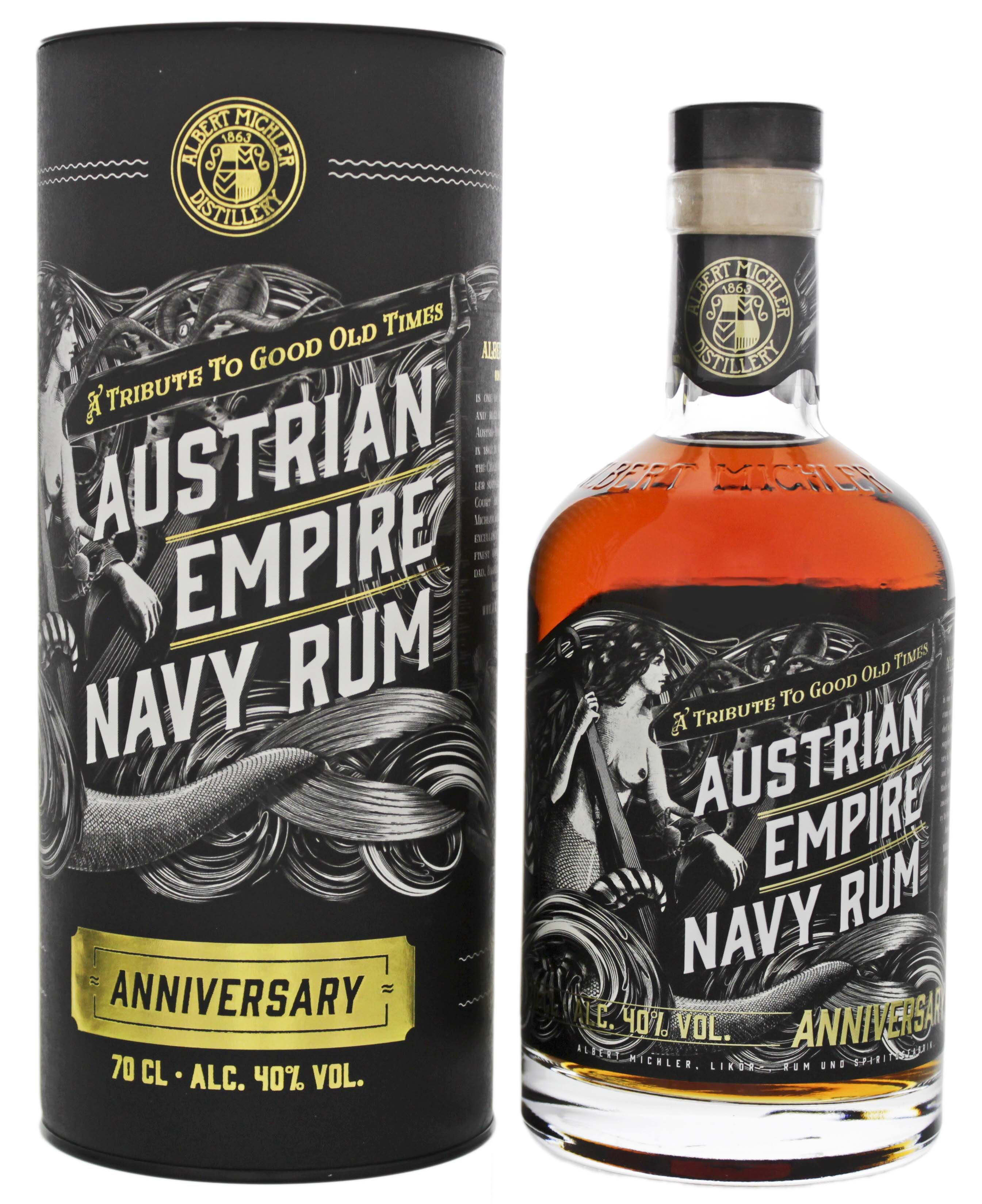Austrian Empire Navy Rum Anniversary 0,7L