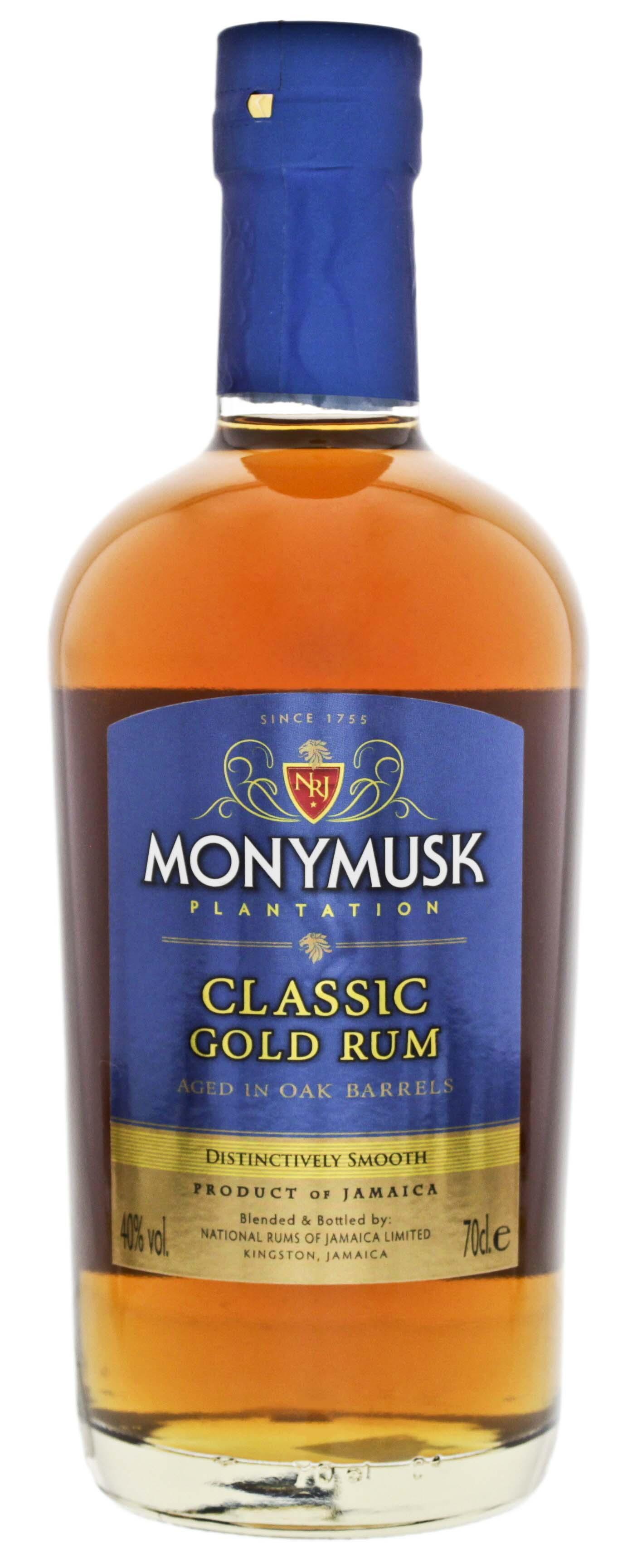 Monymusk Plantation Classic Gold Rum 0,7L