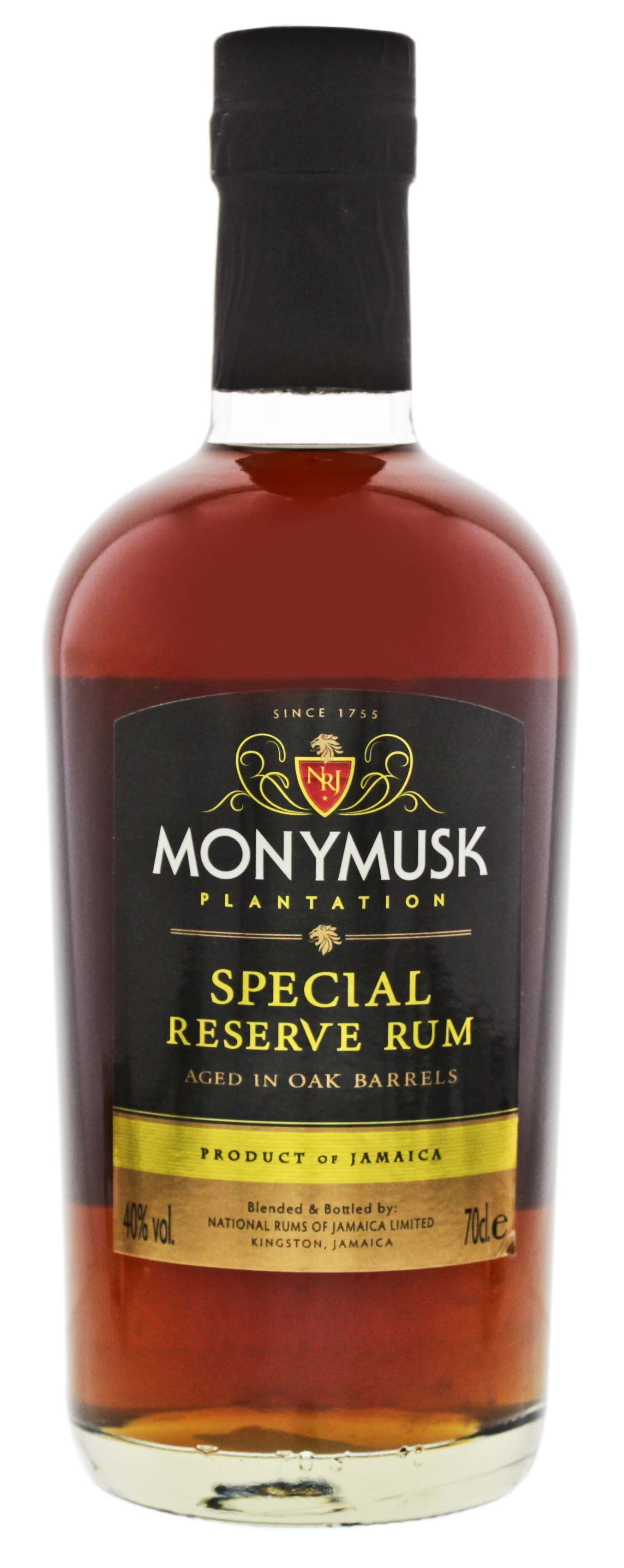 Monymusk Plantation Special Reserve Rum 0,7L