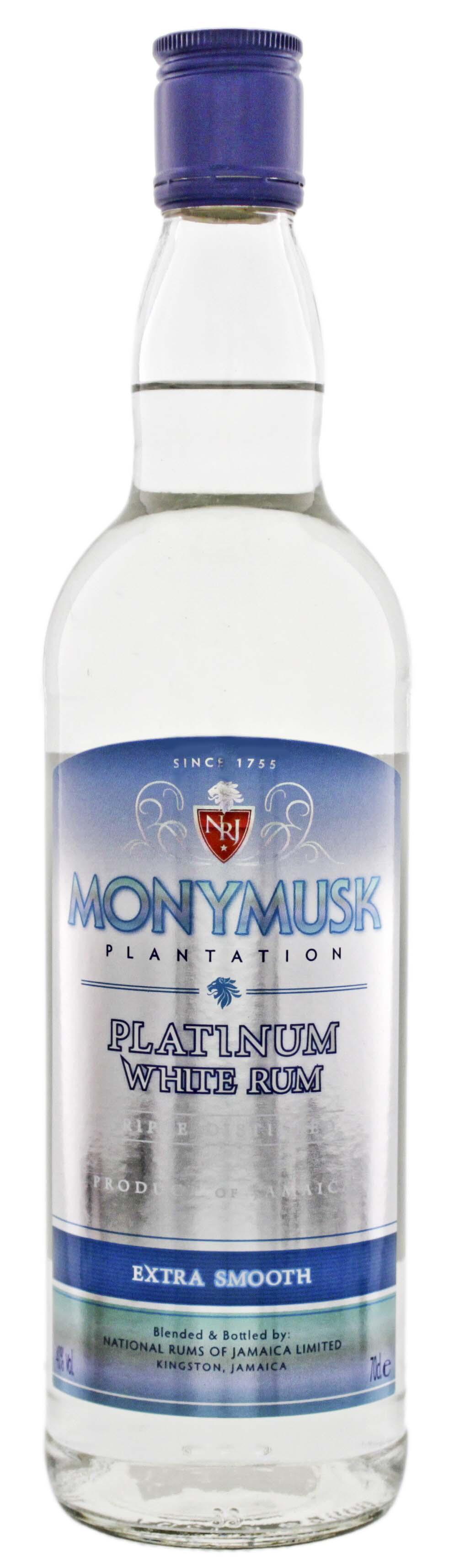 Monymusk Plantation Platinum White Rum 0,7L