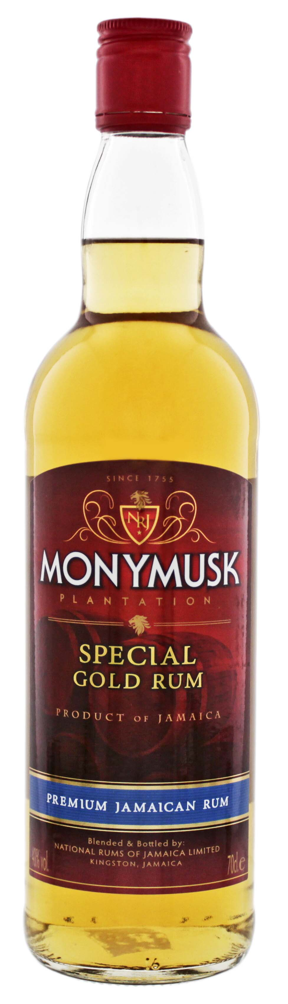 Monymusk Plantation Special Gold Rum 0,7L
