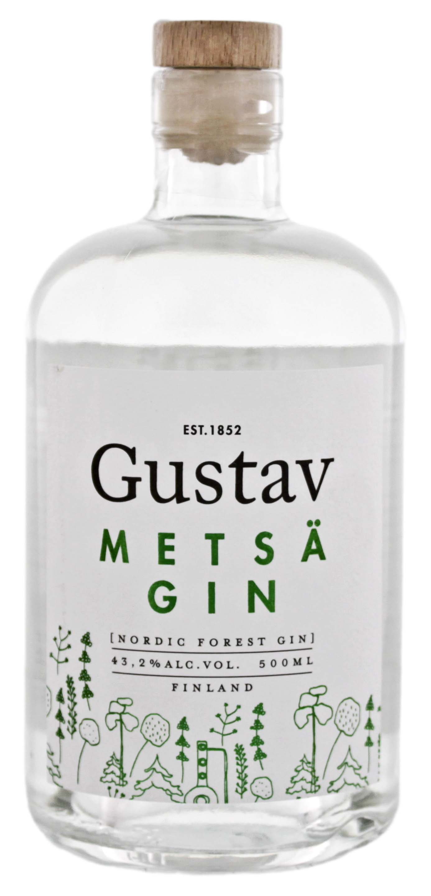 Gustav Metsä Gin 0,5L