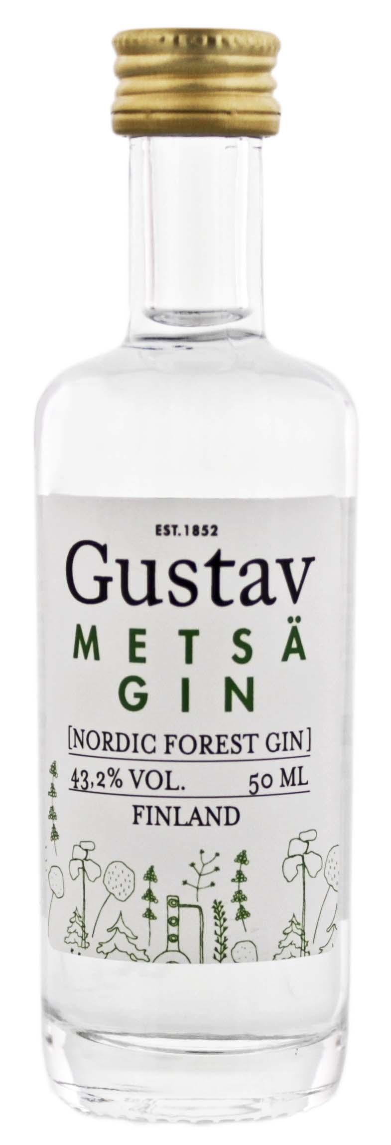 Gustav Metsä Gin Miniatures 0,05L