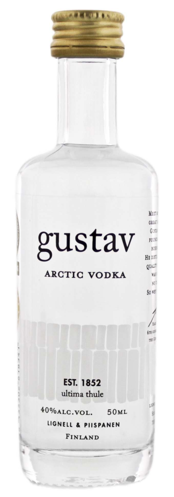 Gustav Arctic Vodka Miniatures 0,05L