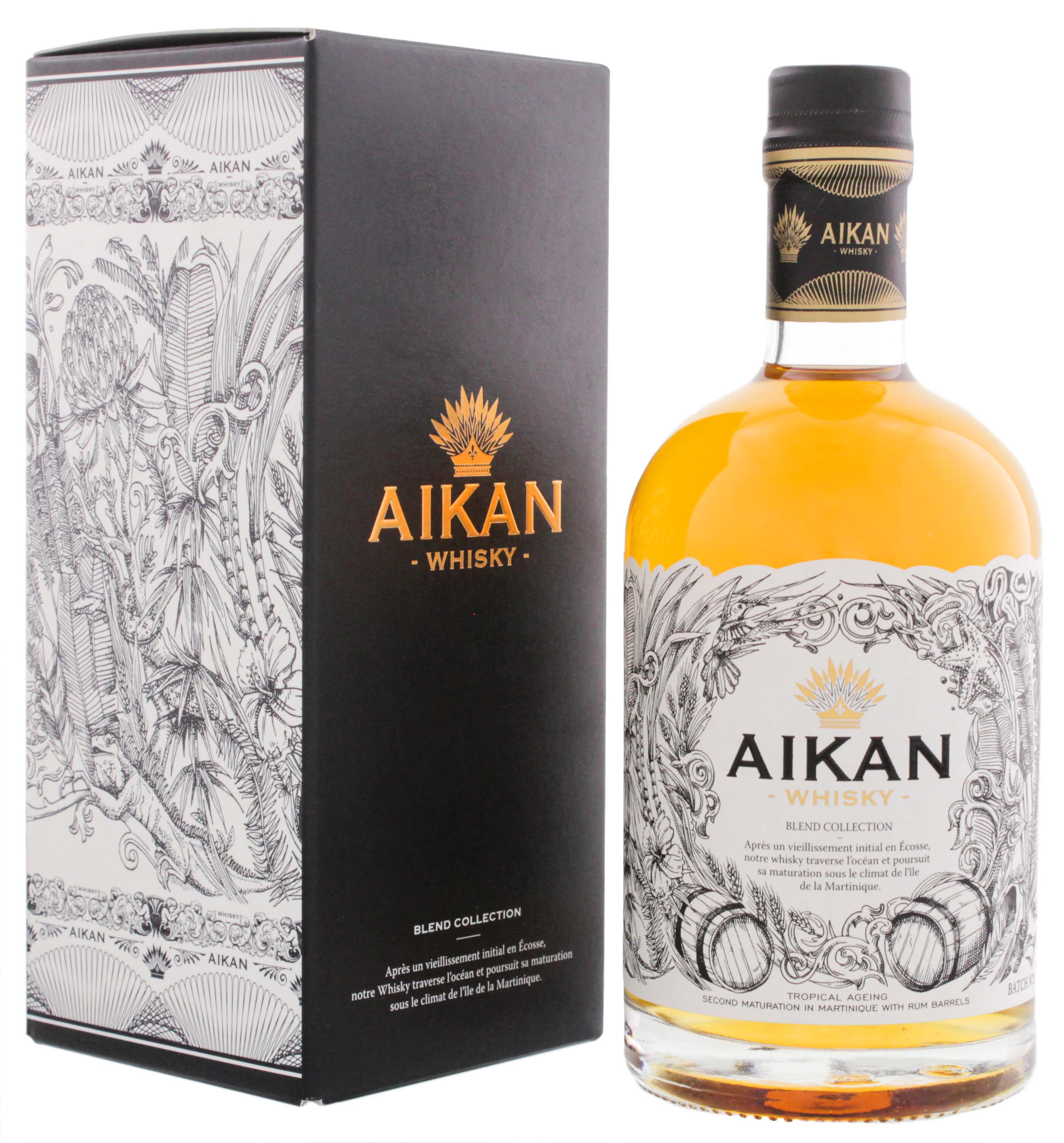 Aikan Whisky Blend Collection Batch No.2 0,5L