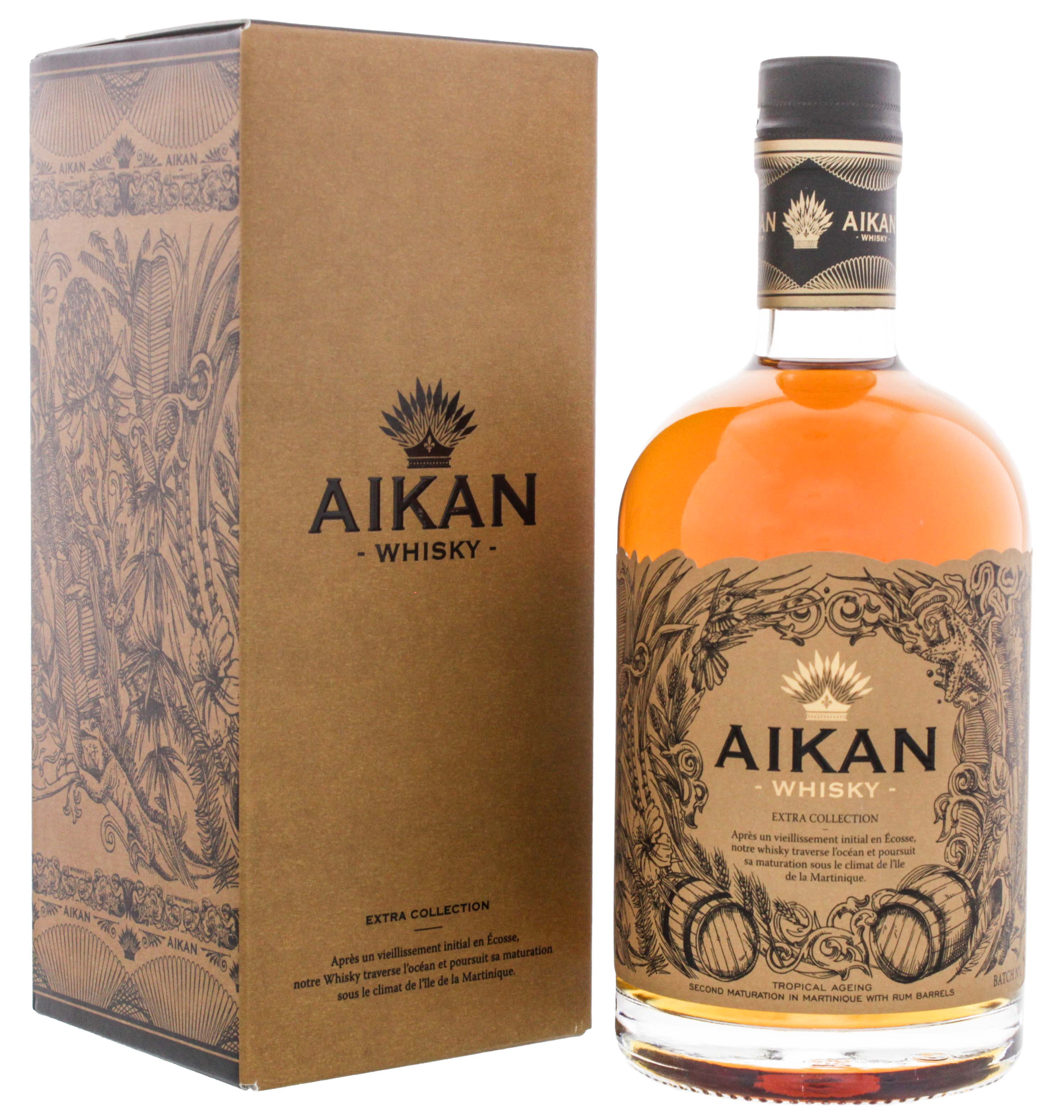 Aikan Whisky Extra Collection Batch No. 1 0,5L