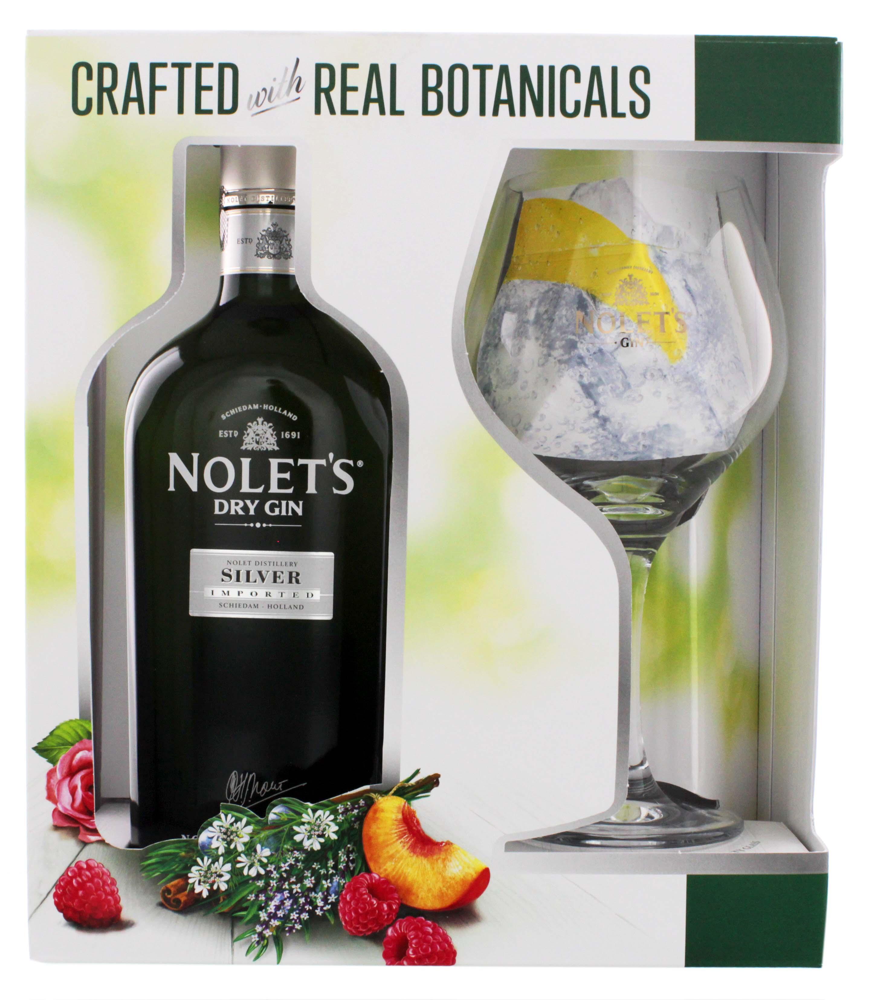 Nolets Dry Gin Silver 0,7L + Glas