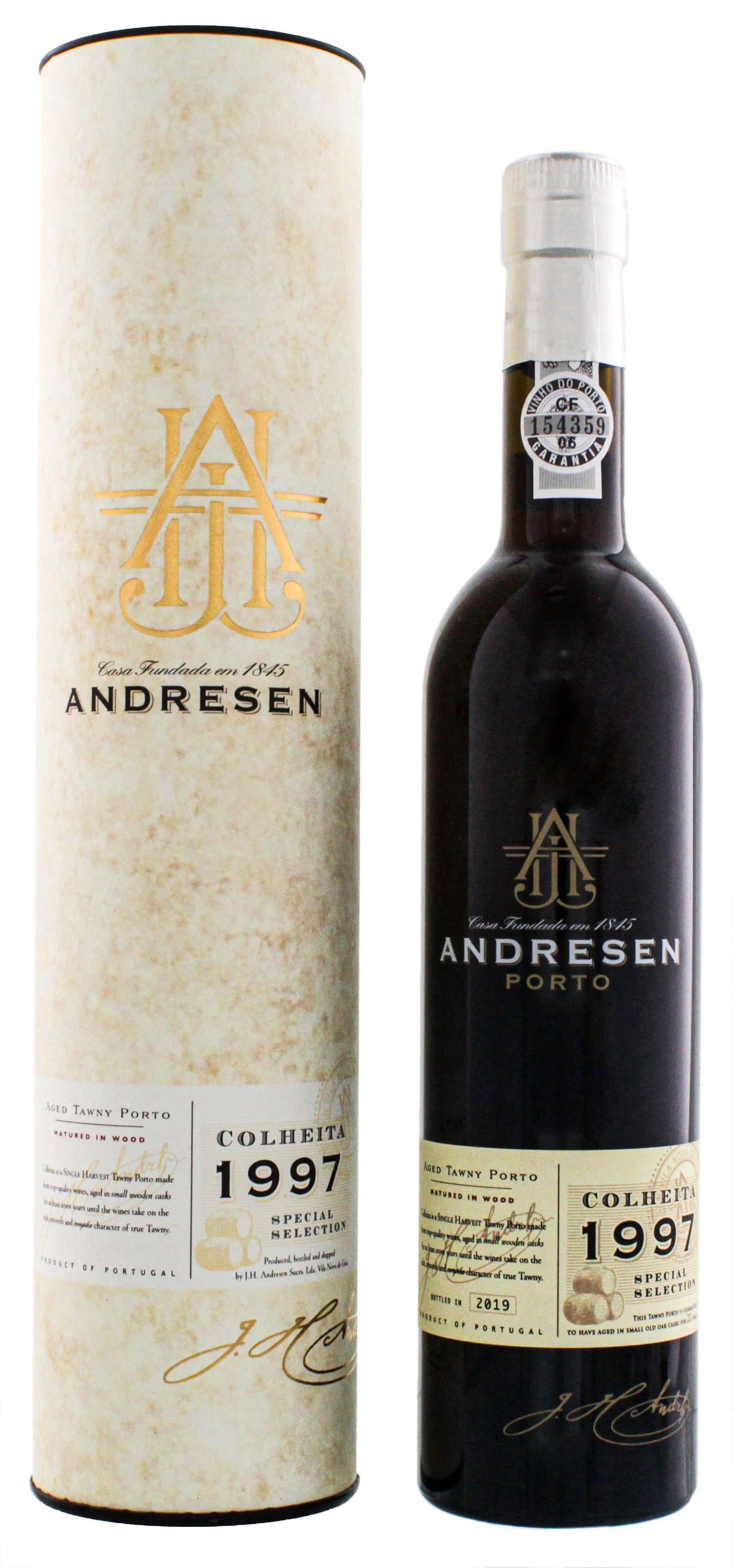 Andresen Colheita Port 1997/2019 Special Selection 0,5L