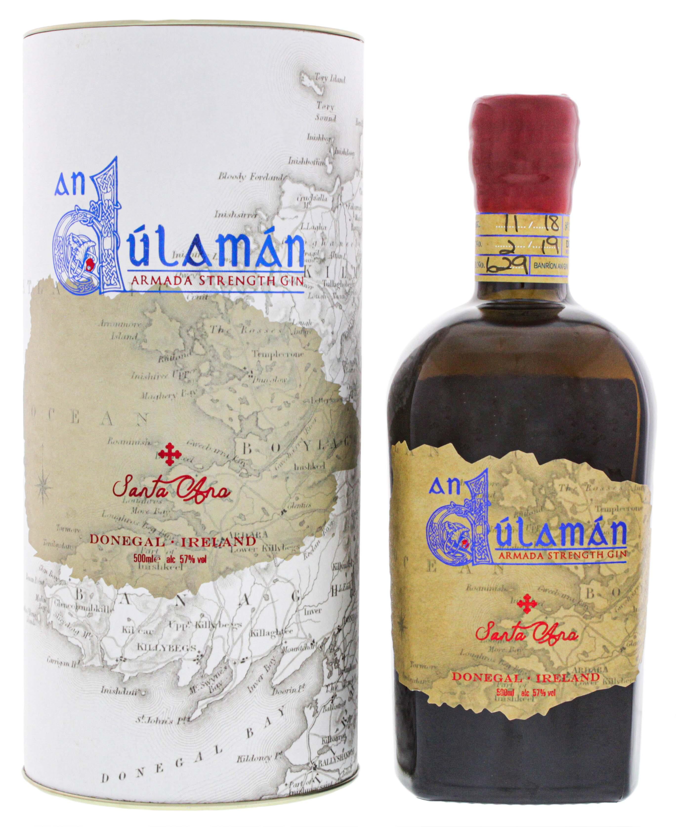 An Dulaman Santa Ana Armada Strength Gin 0,5L