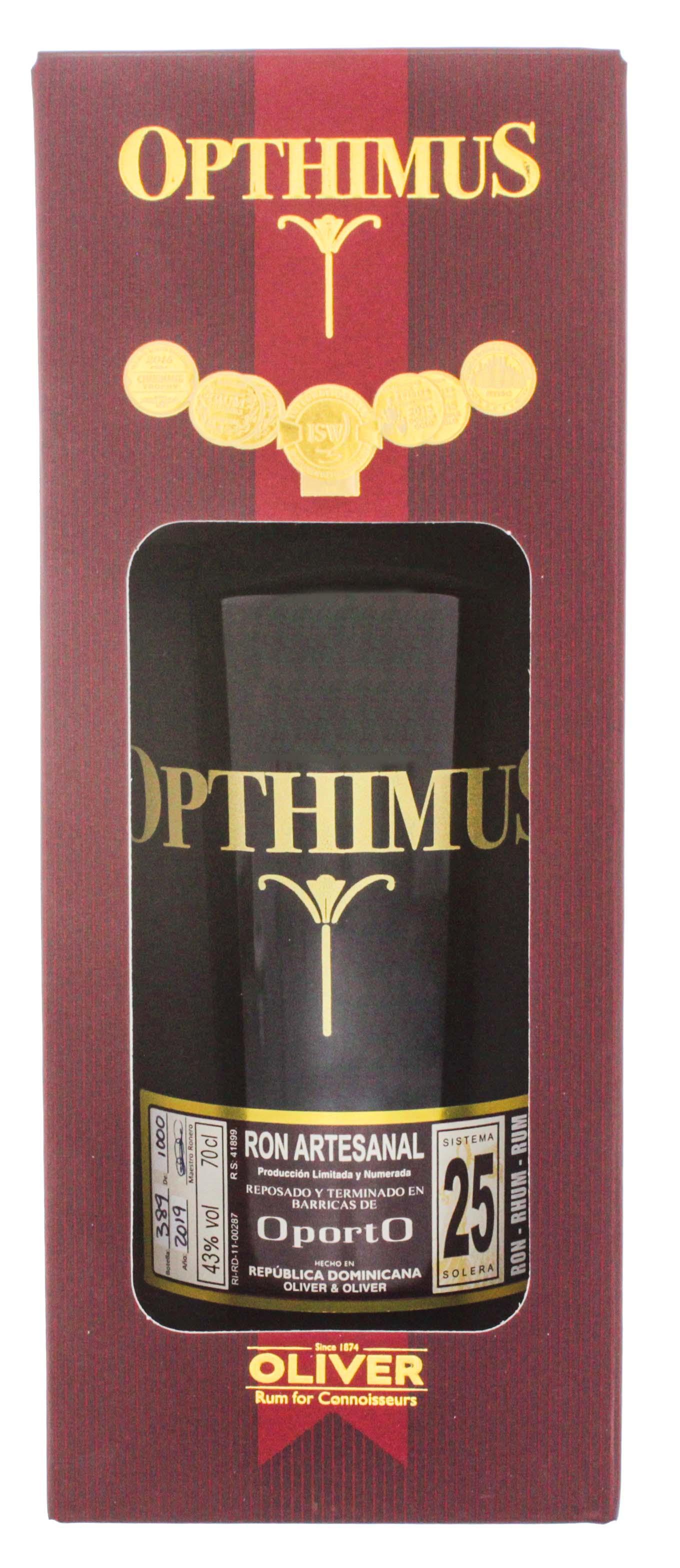 Opthimus 25YO Oporto 0,7L