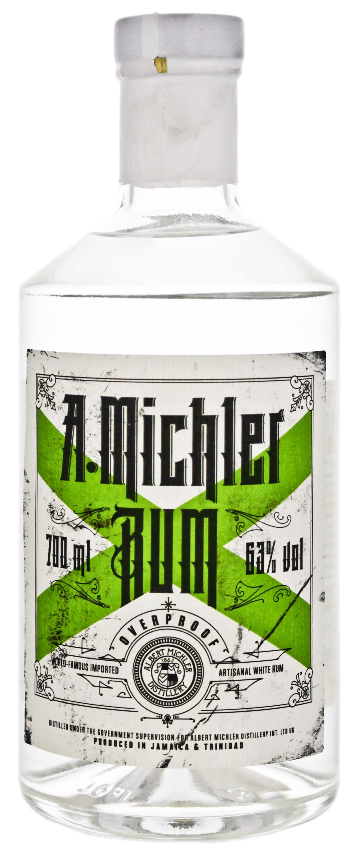 Michlers Overproof Artisanal White Rum 0,7L