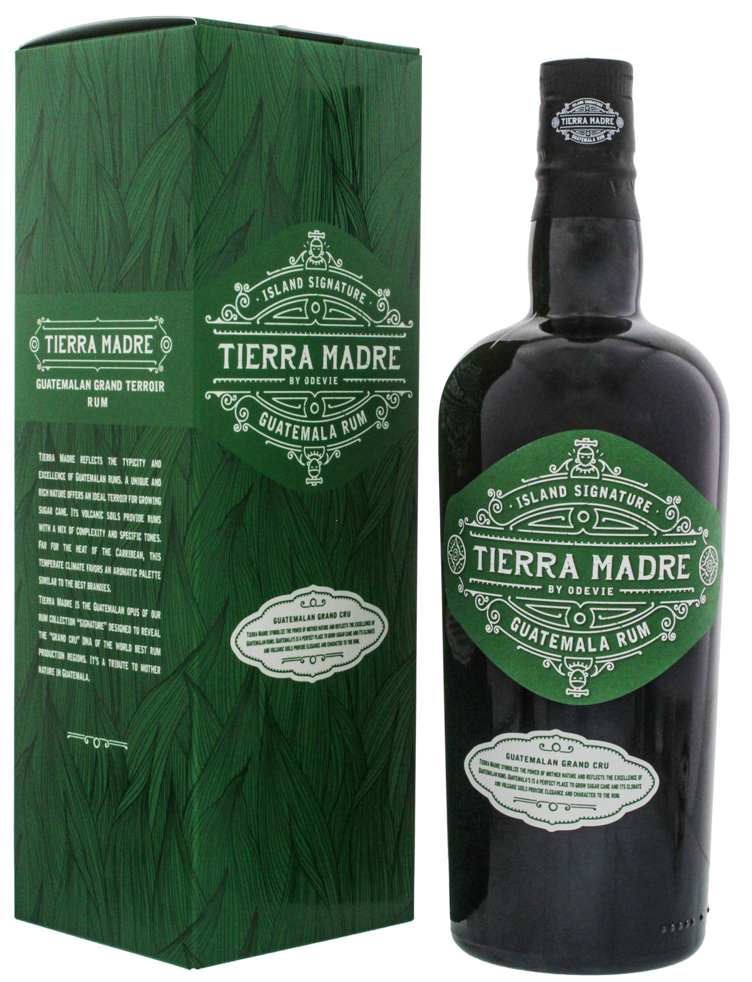 Island Signature Collection Tierra Madre Guatemala Rum 0,7L